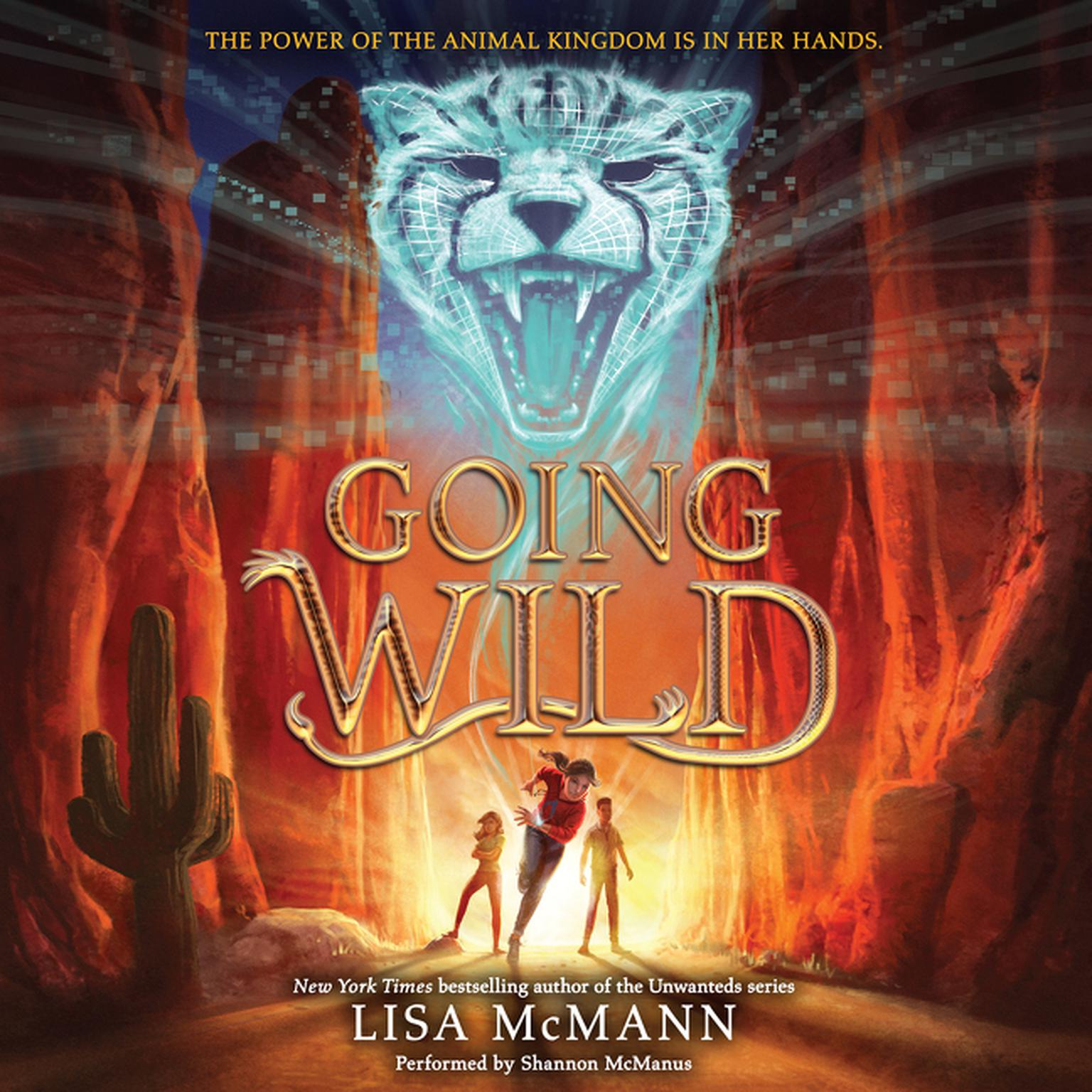 Printable Going Wild Audiobook Cover Art