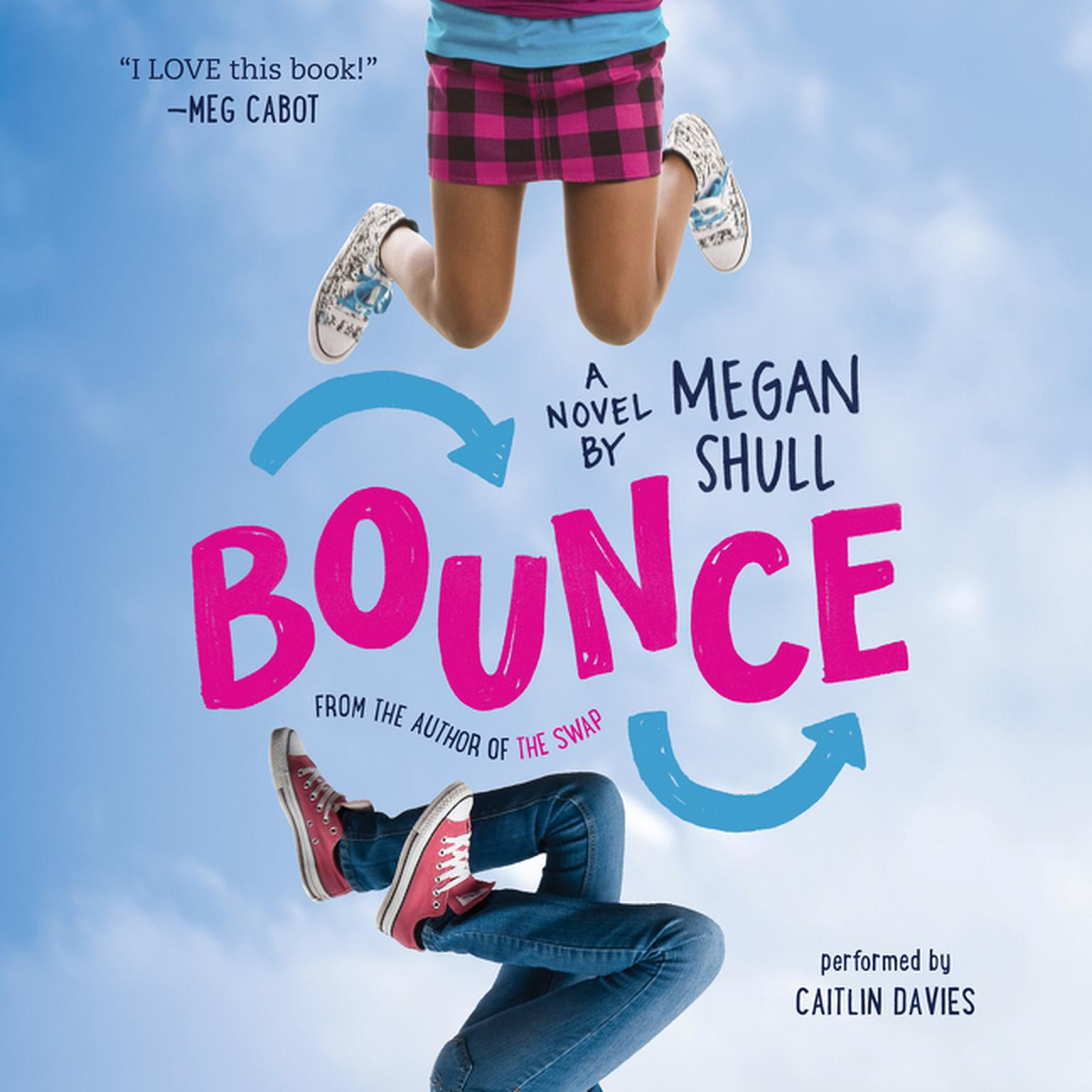 Printable Bounce: A Novel Audiobook Cover Art