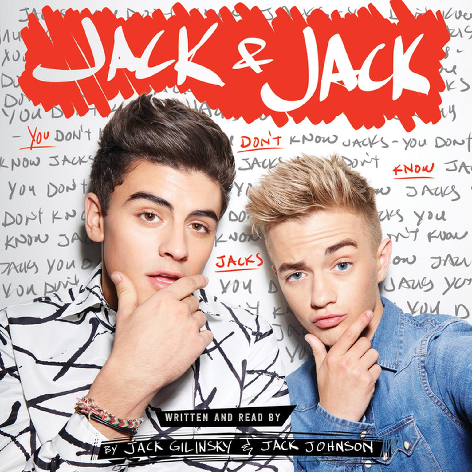 Printable Jack & Jack: You Don't Know Jacks Audiobook Cover Art