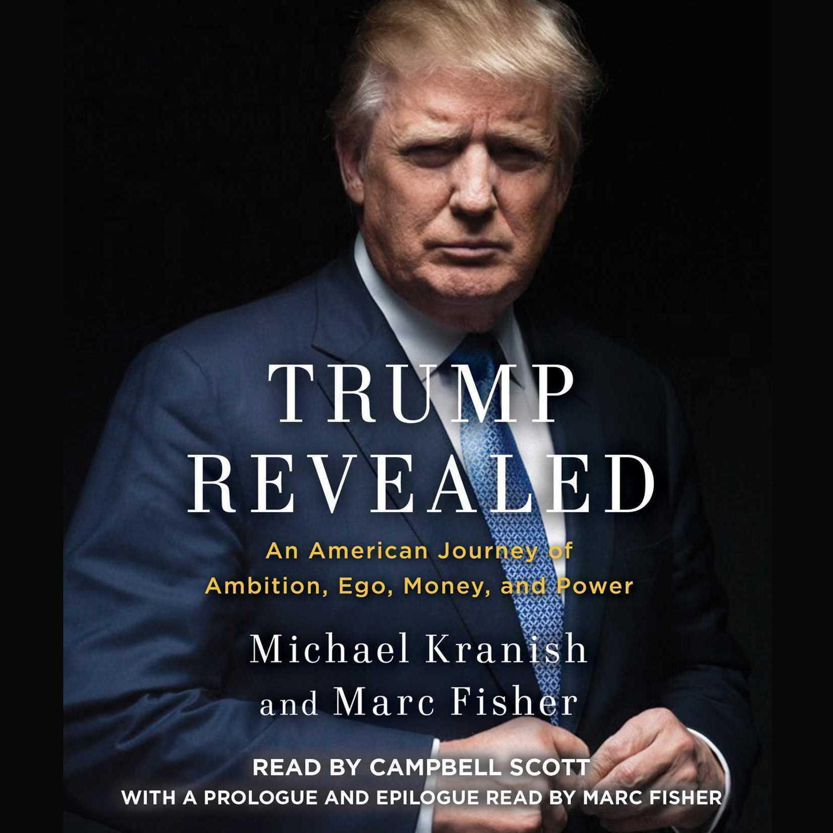 Printable Trump Revealed: An American Journey of Ambition, Ego, Money, and Power Audiobook Cover Art