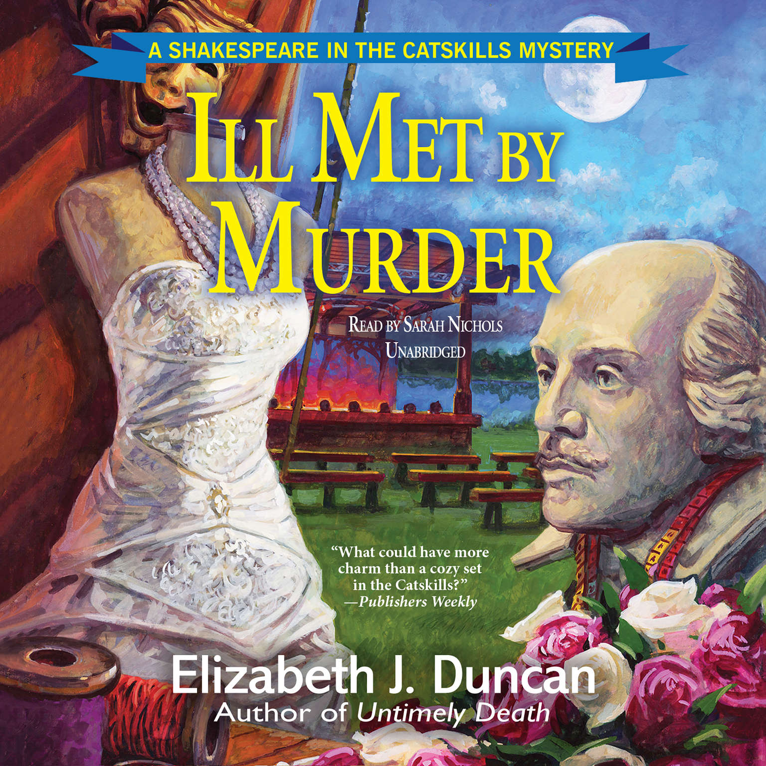 Printable Ill Met by Murder: A Shakespeare in the Catskills Mystery Audiobook Cover Art