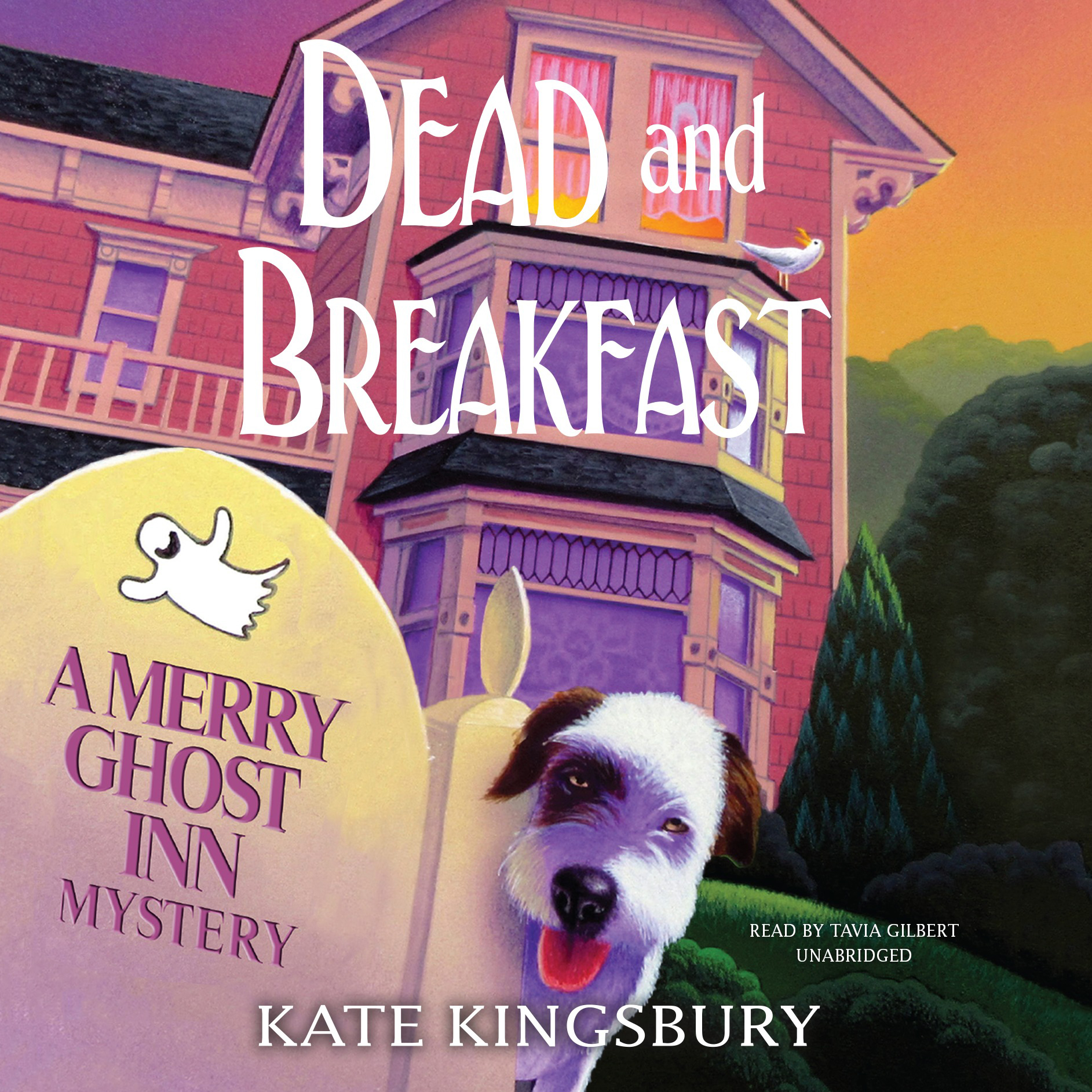 Printable Dead and Breakfast: A Merry Ghost Inn Mystery Audiobook Cover Art