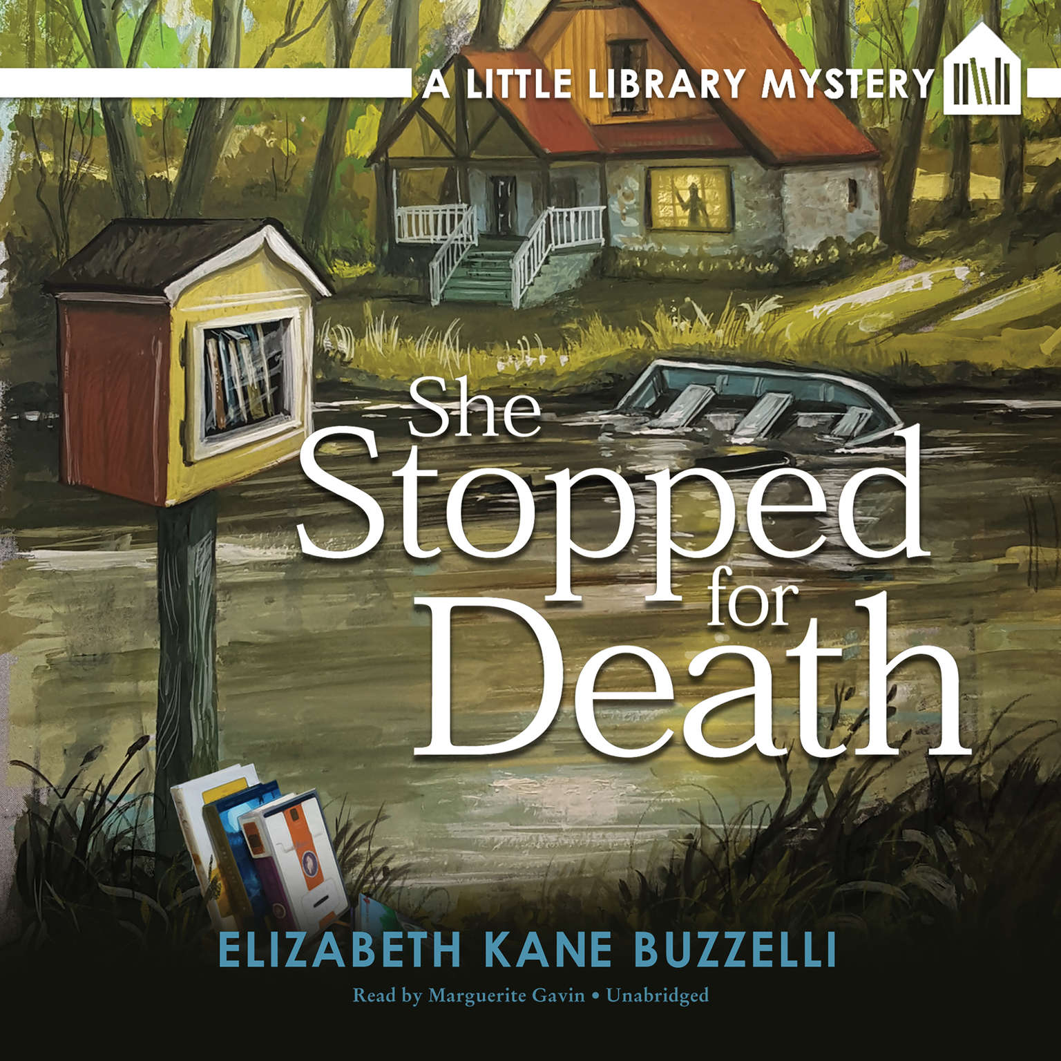 Printable She Stopped for Death: A Little Library Mystery Audiobook Cover Art