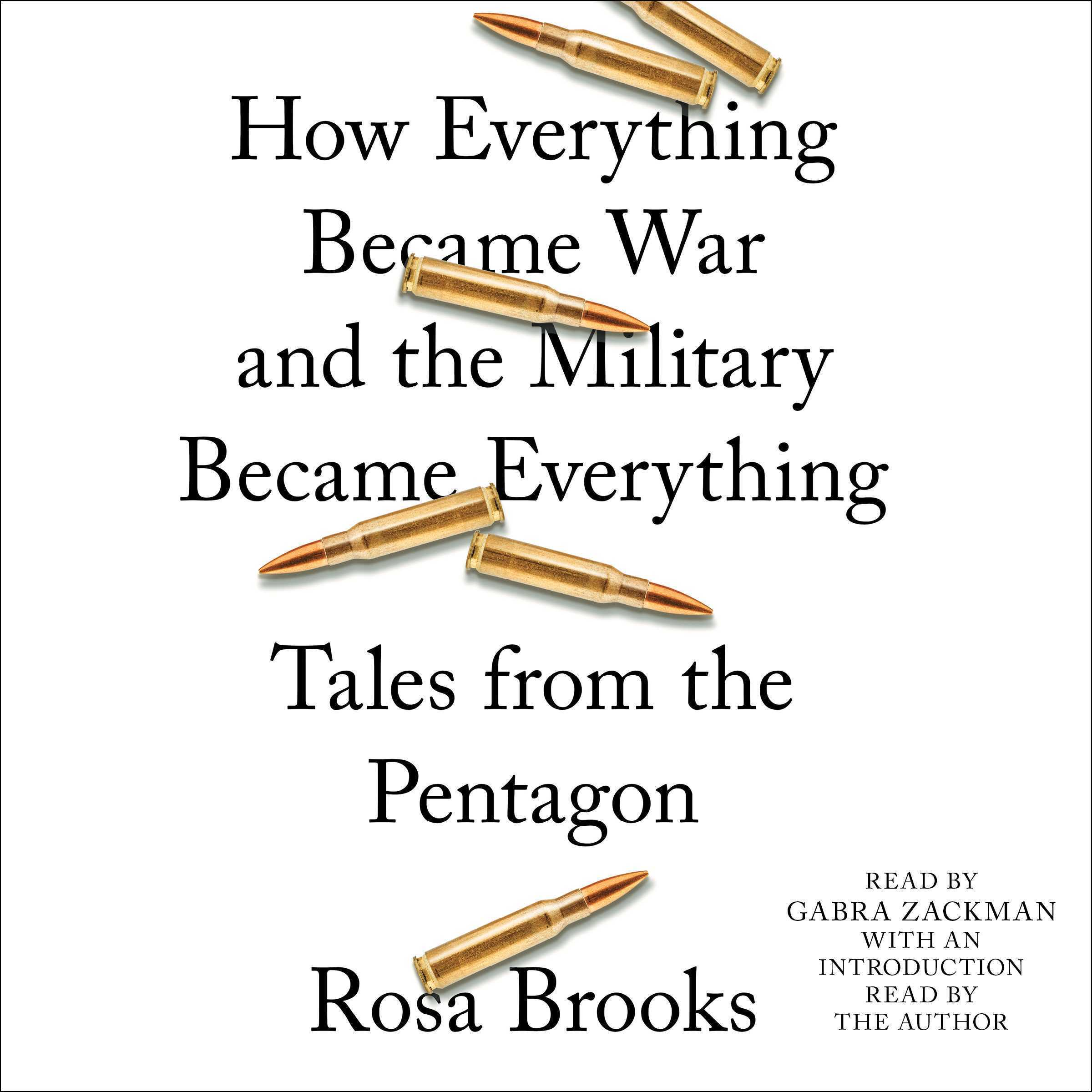 Printable How Everything Became War and the Military Became Everything: Tales from the Pentagon Audiobook Cover Art