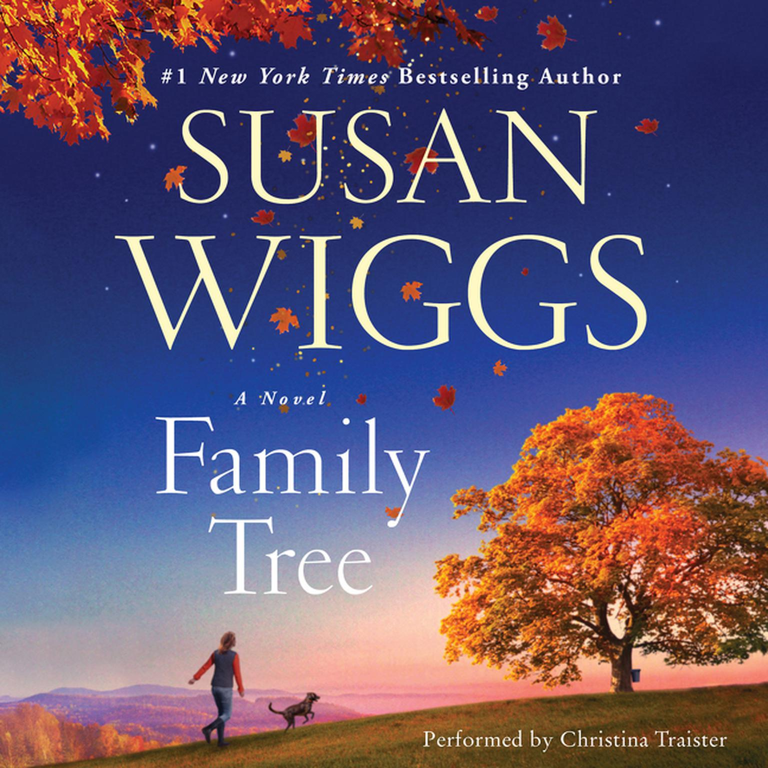 Printable Family Tree: A Novel Audiobook Cover Art