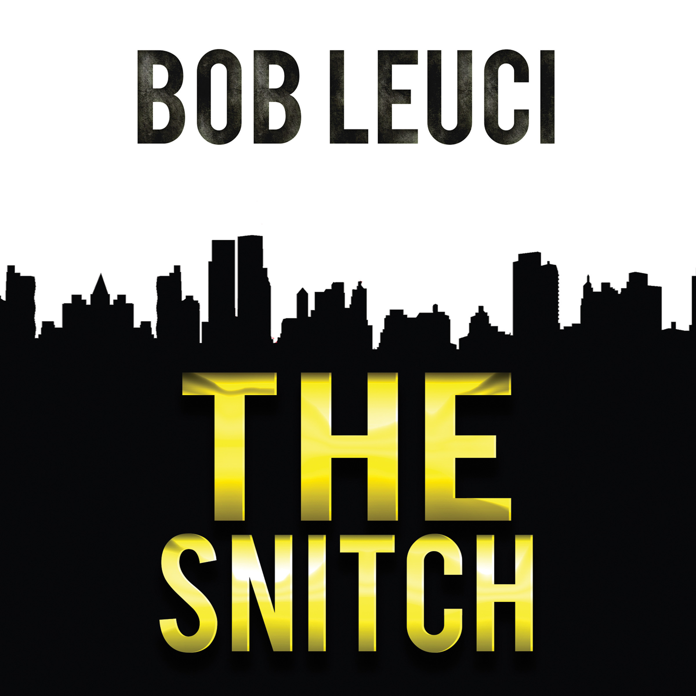 Printable The Snitch Audiobook Cover Art