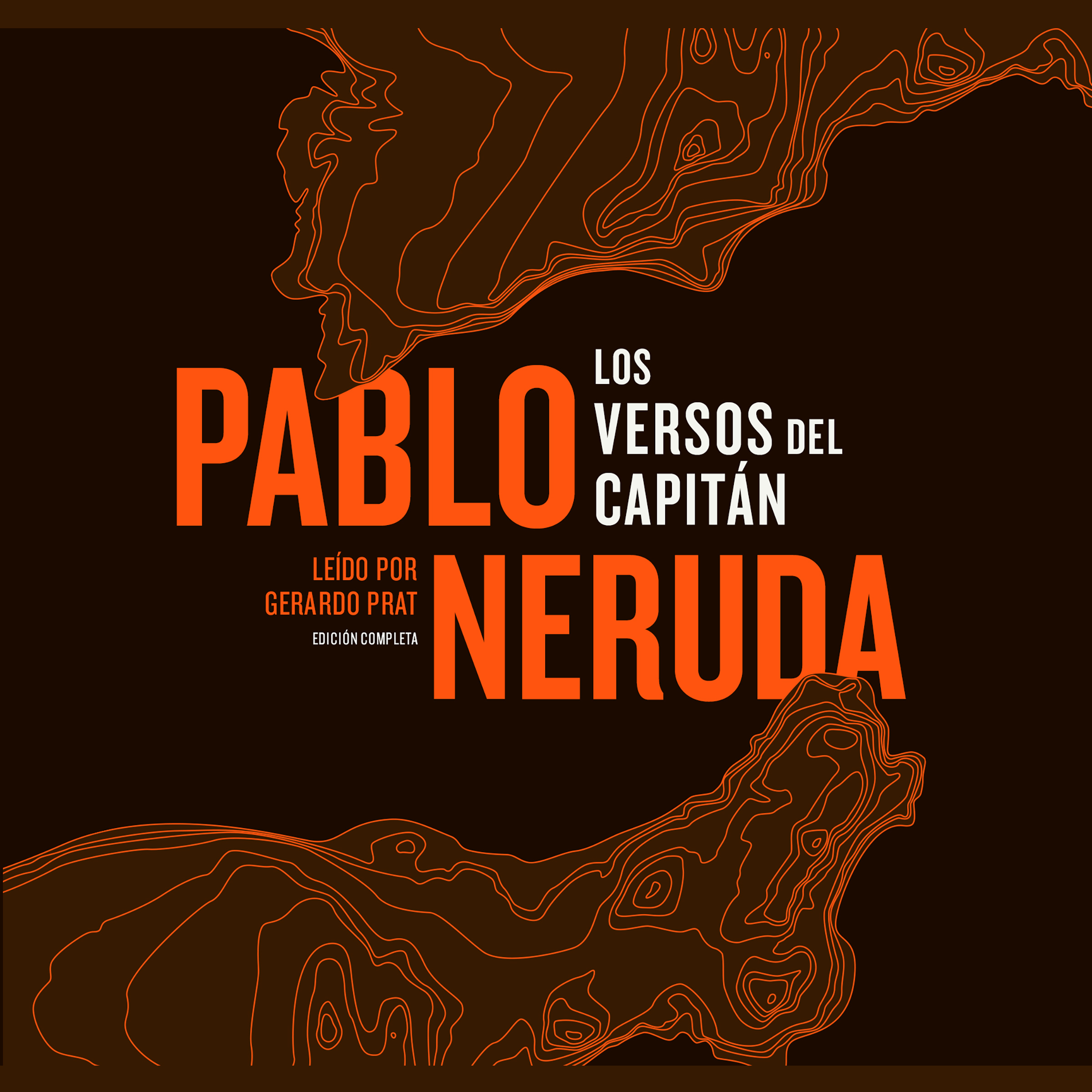 Printable Los Versos del Capitán Audiobook Cover Art