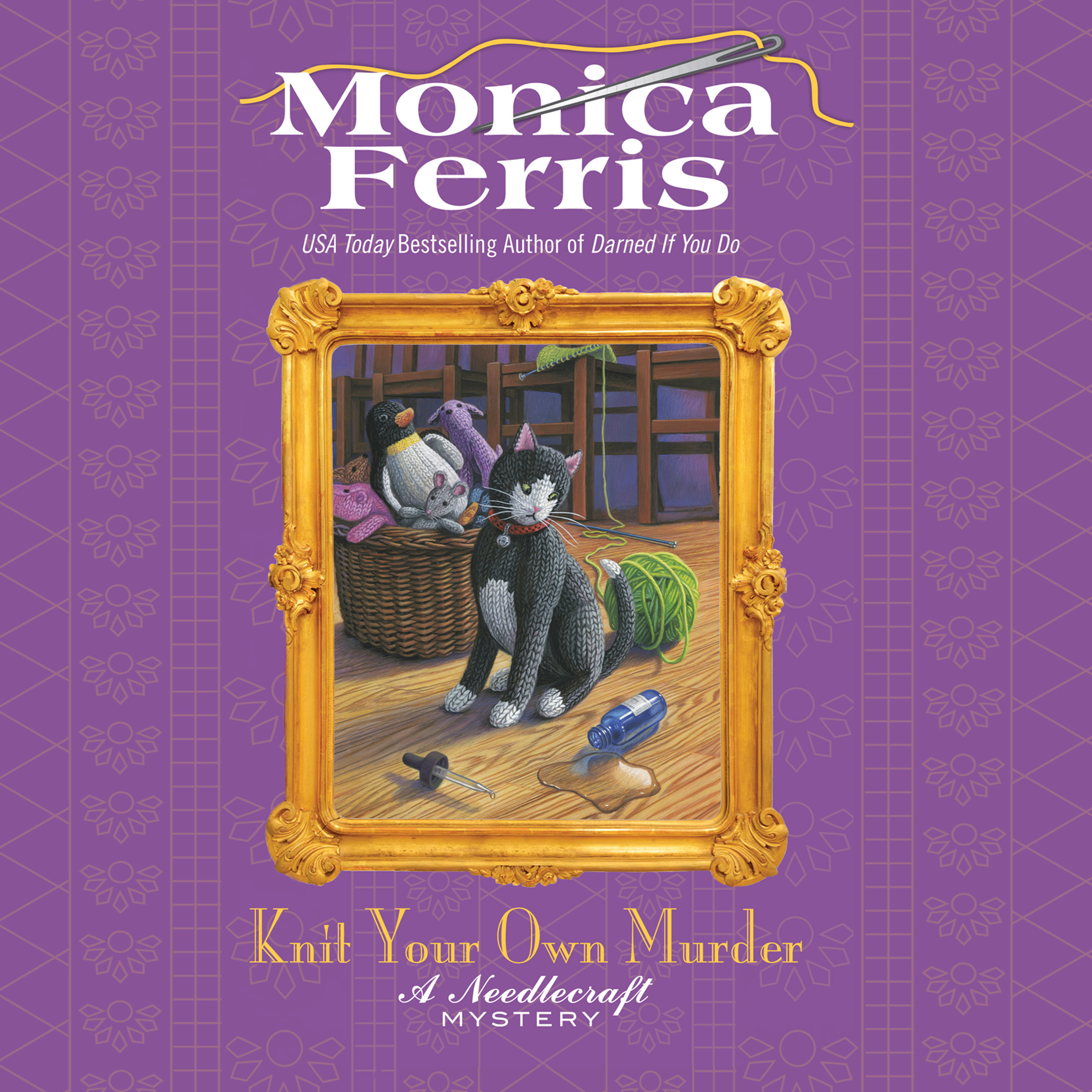 Printable Knit Your Own Murder Audiobook Cover Art