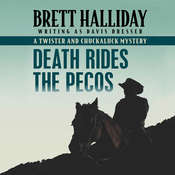 Death Rides the Pecos Audiobook, by Brett Halliday