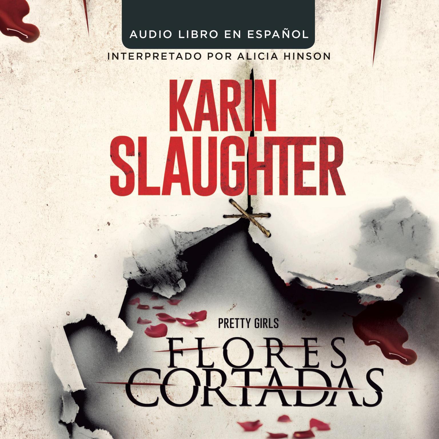 Printable Flores cortadas Audiobook Cover Art