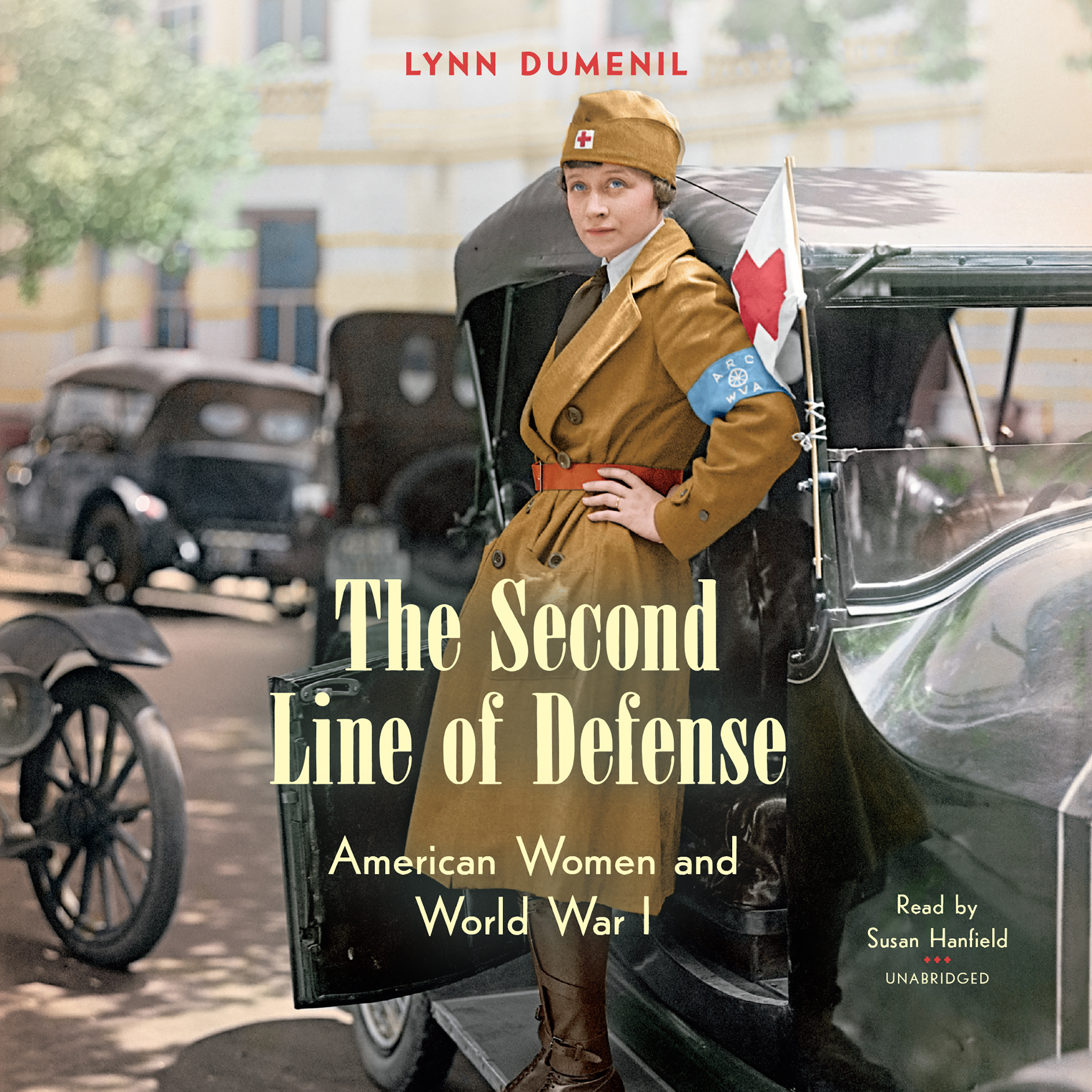 Printable The Second Line of Defense: American Women and World War I Audiobook Cover Art