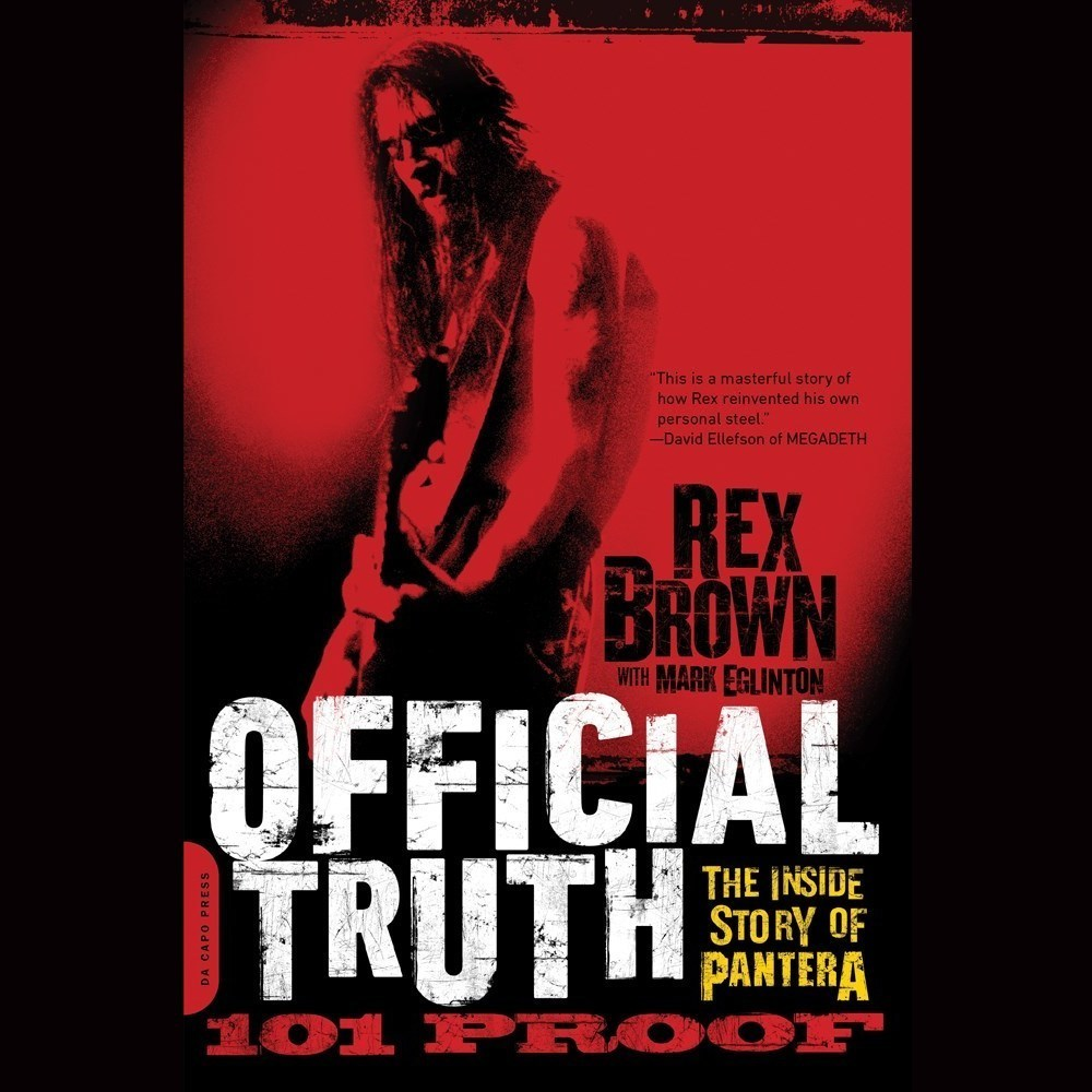 Printable Official Truth, 101 Proof: The Inside Story of Pantera Audiobook Cover Art