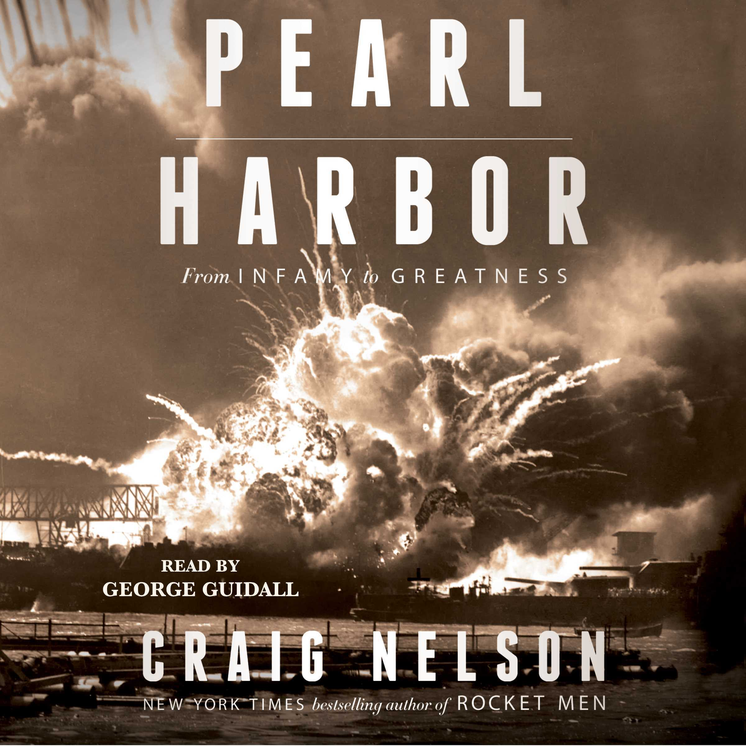 Printable Pearl Harbor: From Infamy to Greatness Audiobook Cover Art
