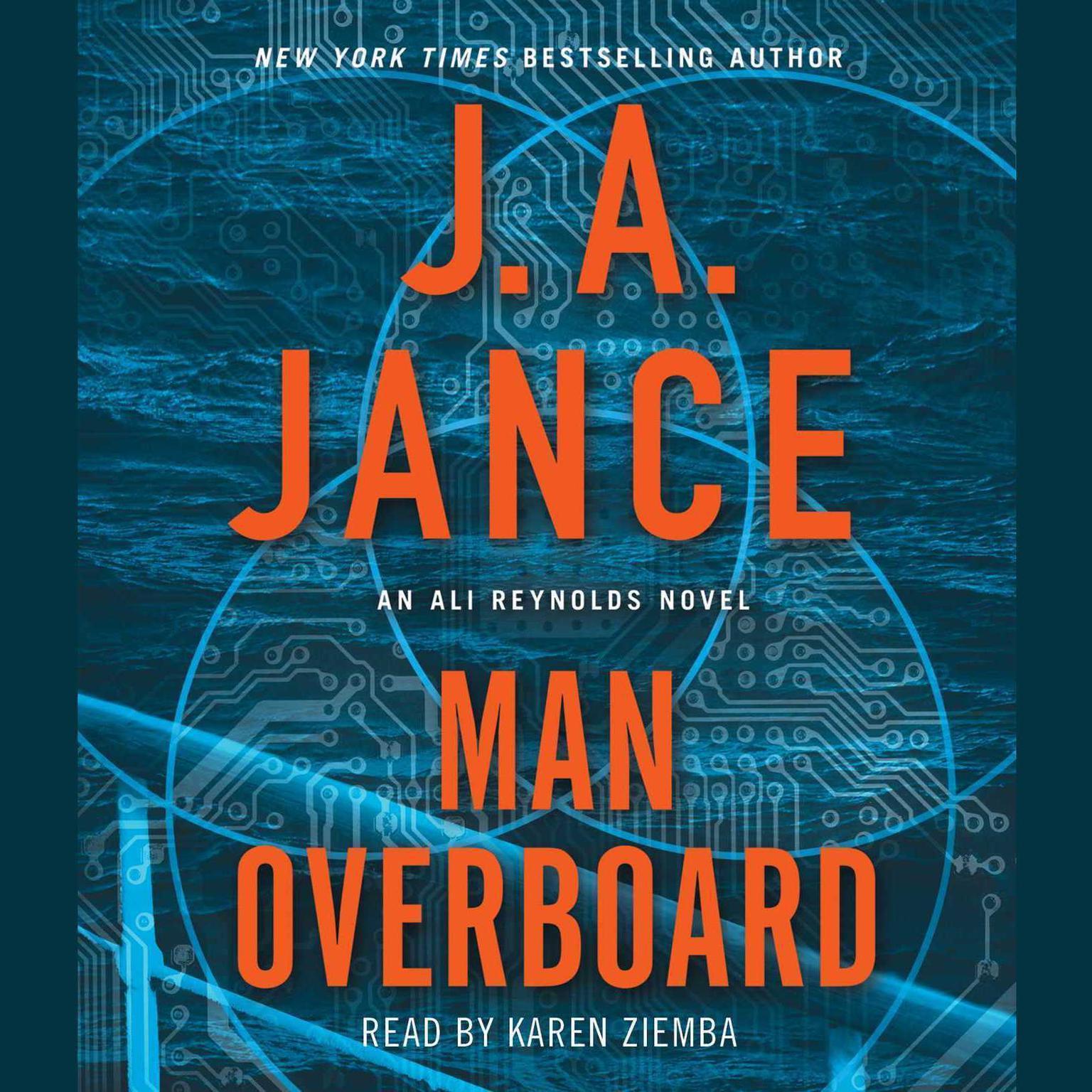 Man Overboard: An Ali Reynolds Novel Audiobook, by J. A. Jance