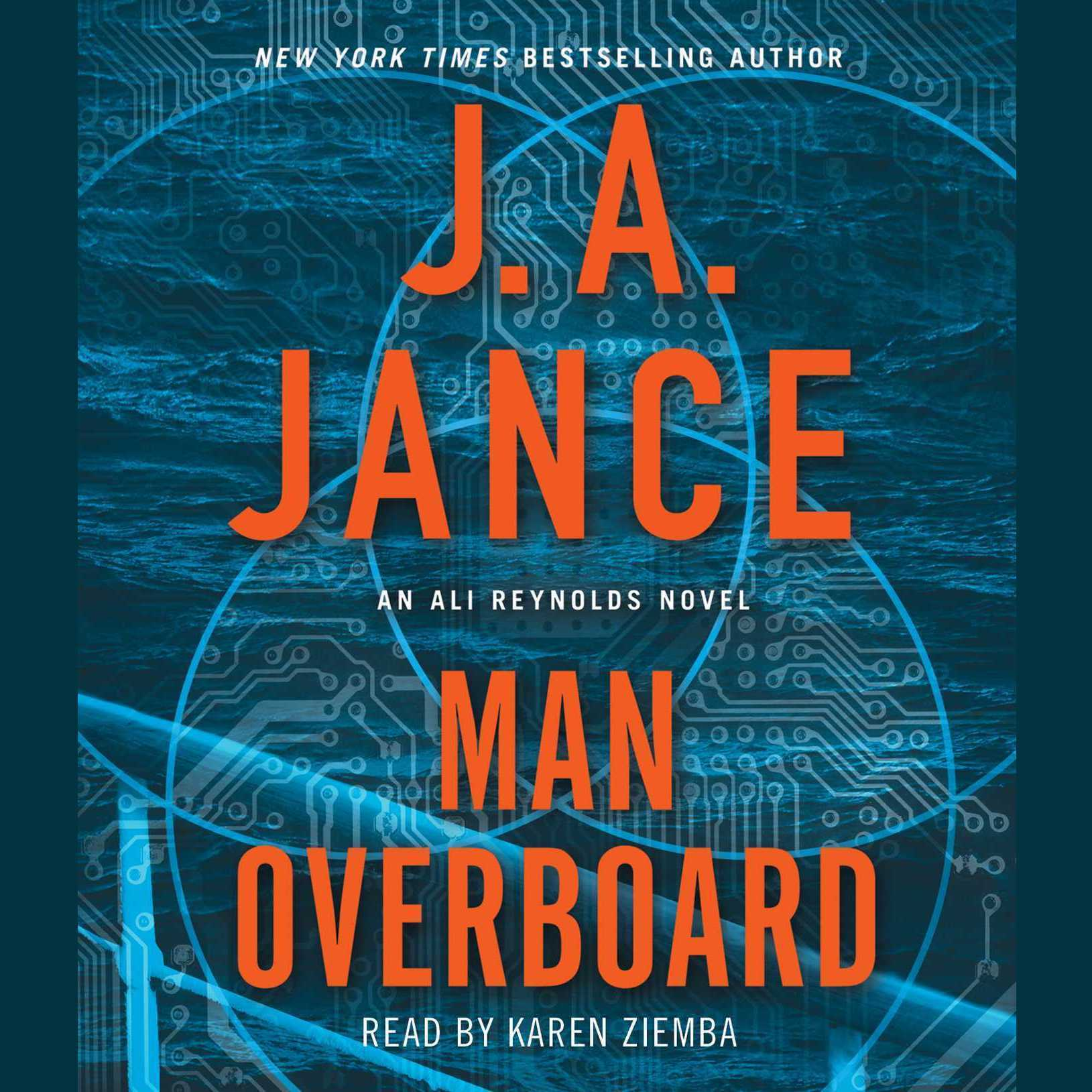Printable Man Overboard: An Ali Reynolds Novel Audiobook Cover Art