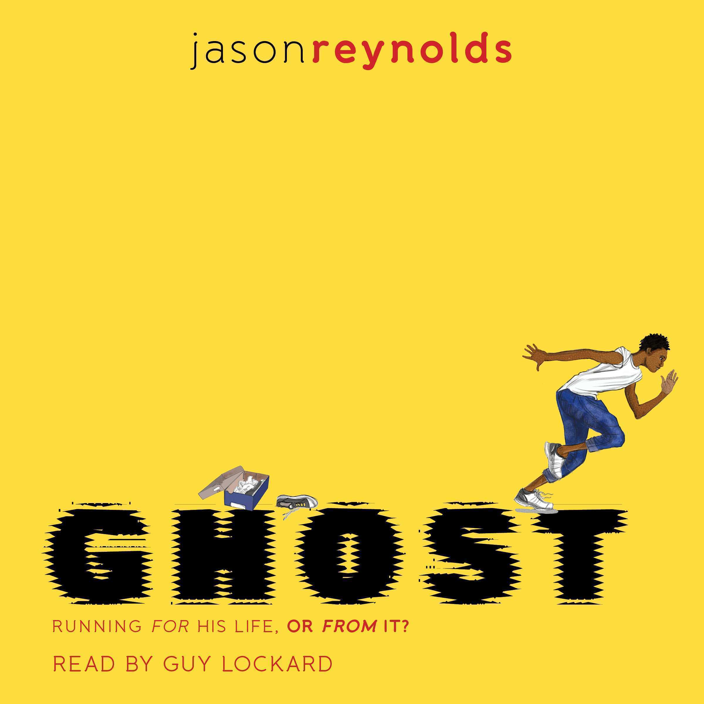 Printable Ghost Audiobook Cover Art
