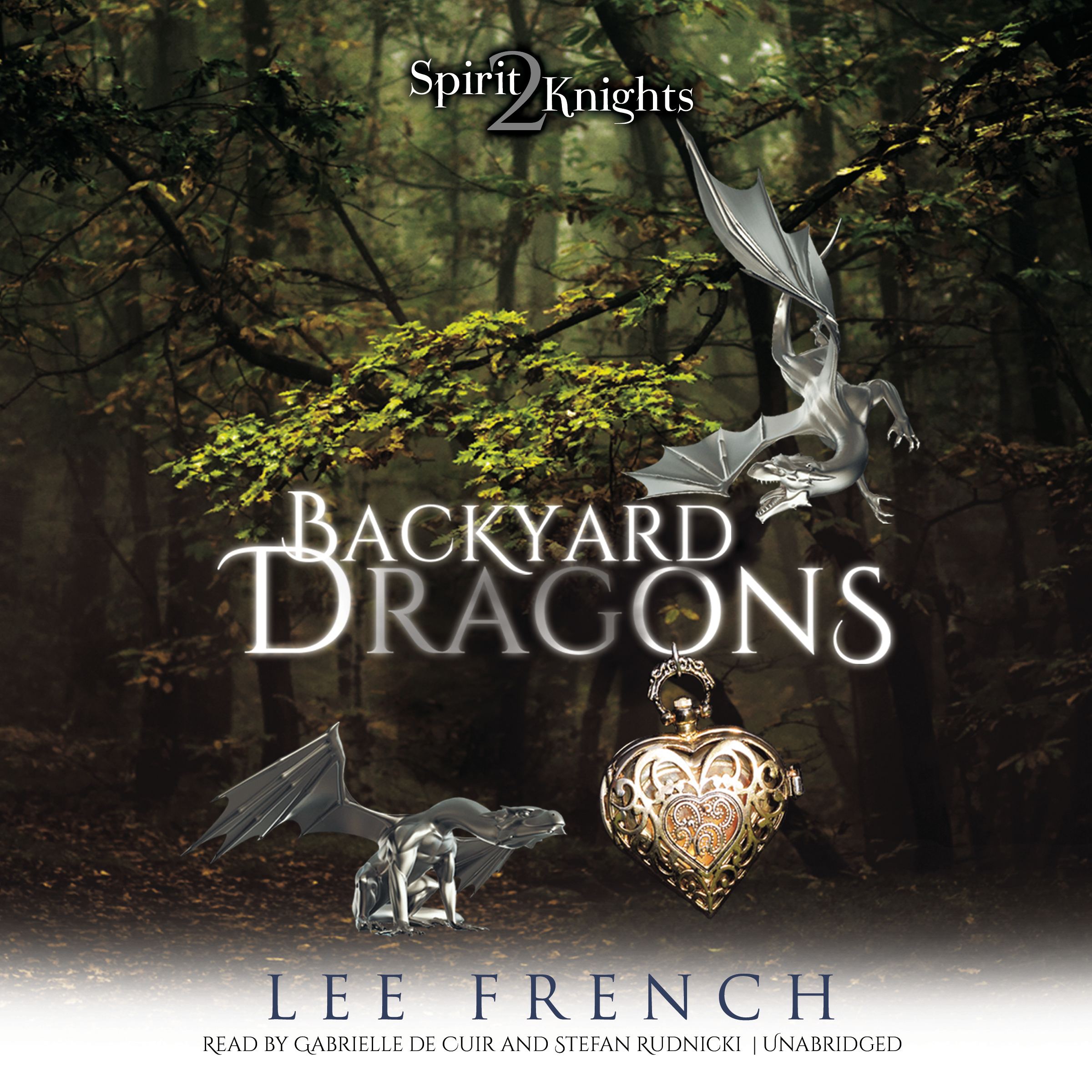 Printable Backyard Dragons Audiobook Cover Art