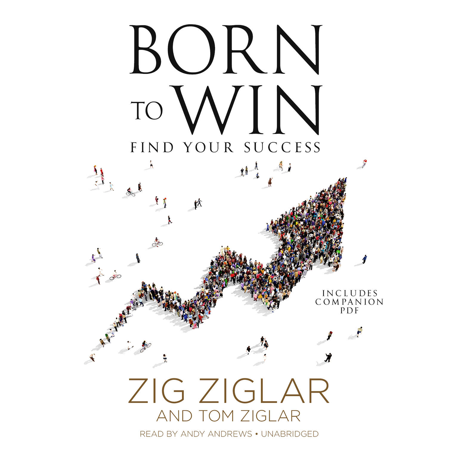 Printable Born to Win: Find Your Success Audiobook Cover Art
