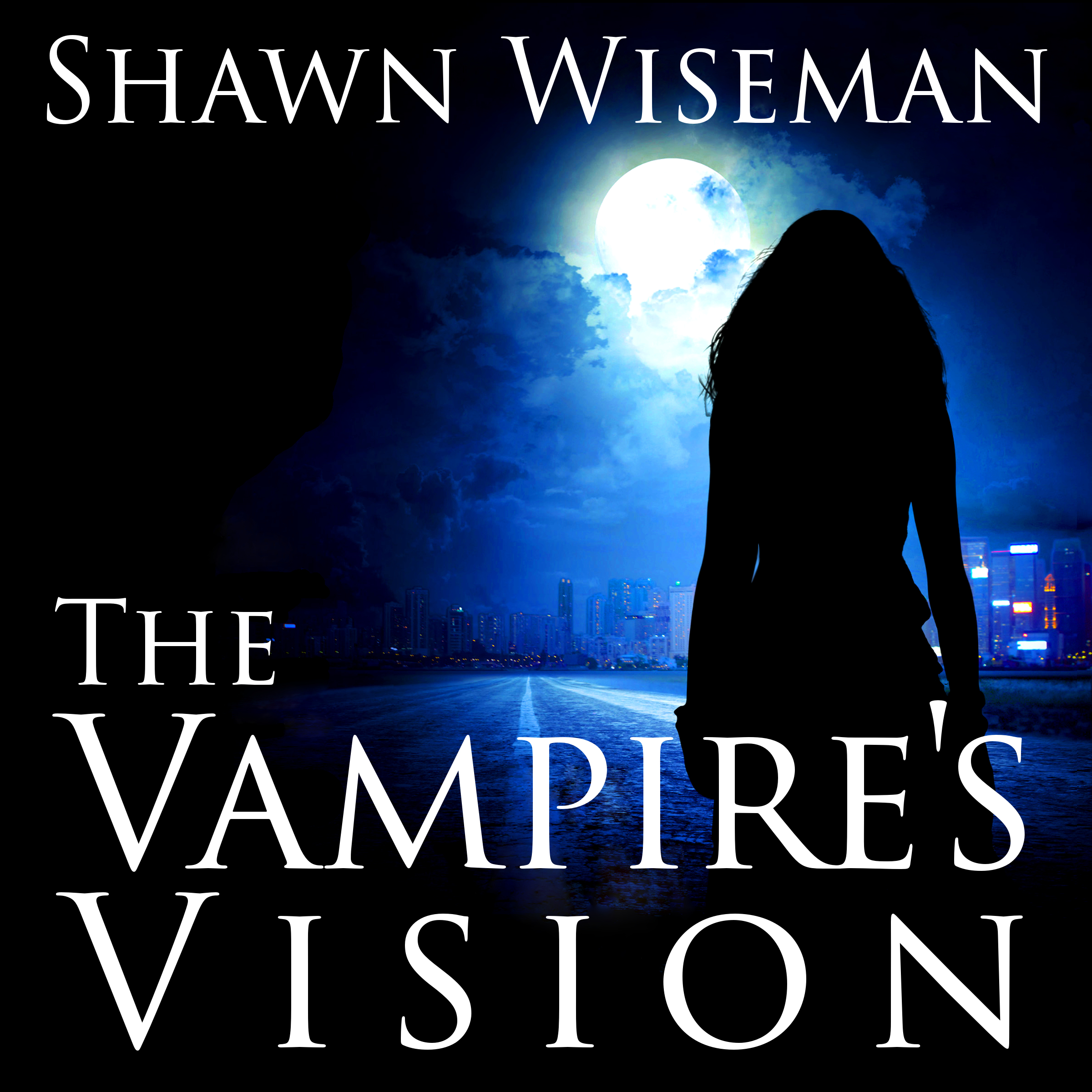 Printable The Vampire's Vision Audiobook Cover Art