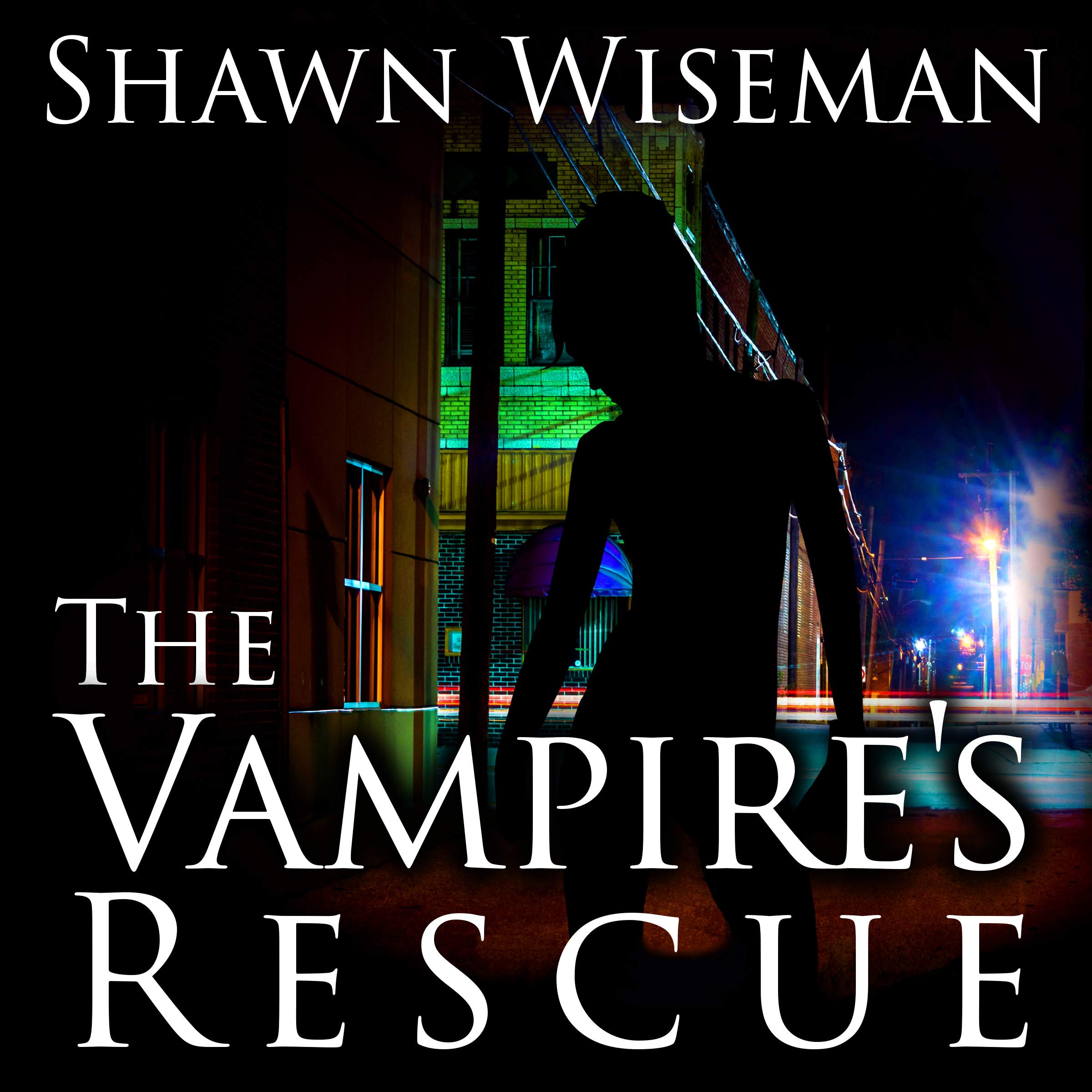 Printable The Vampire's Rescue Audiobook Cover Art