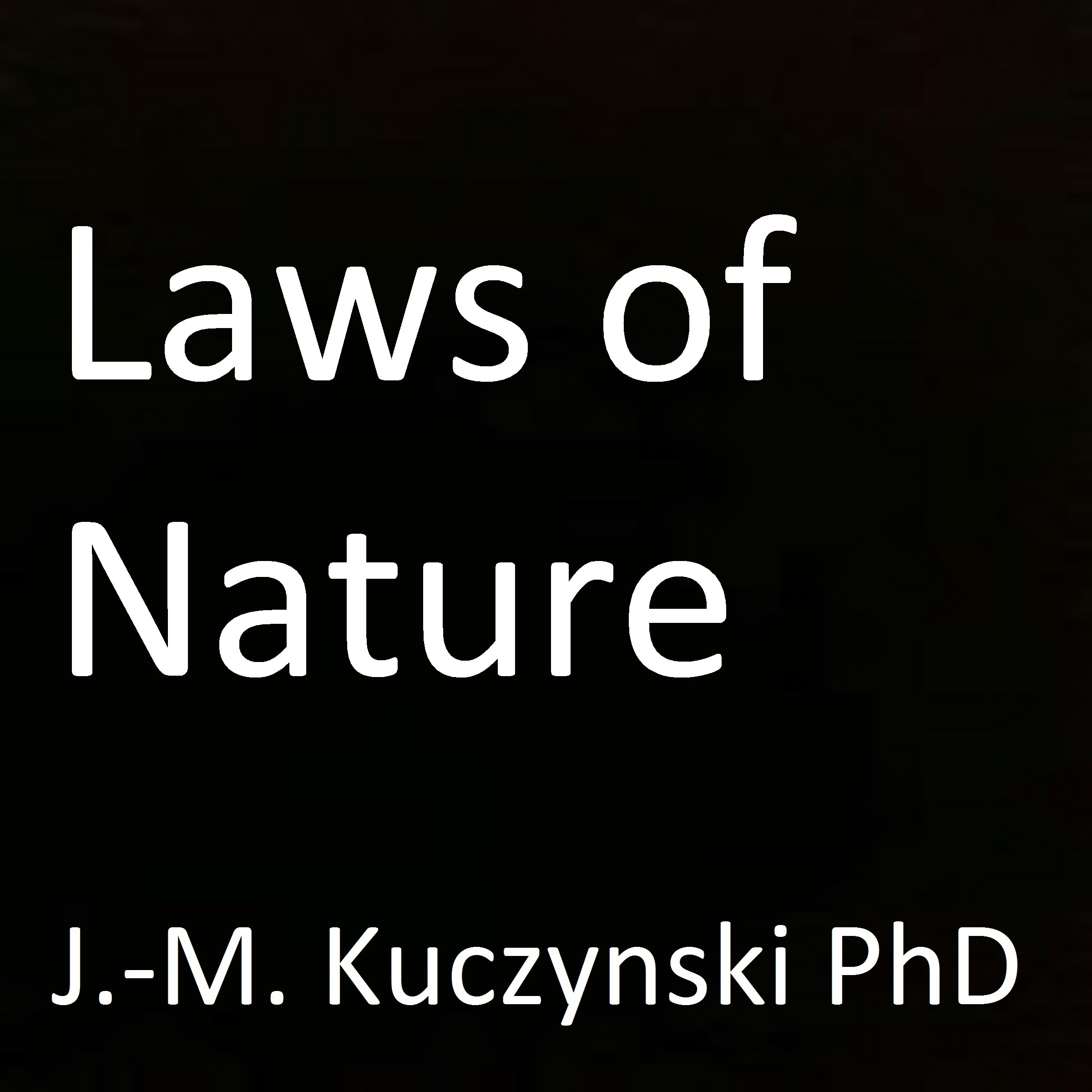 Printable Laws of Nature  Audiobook Cover Art