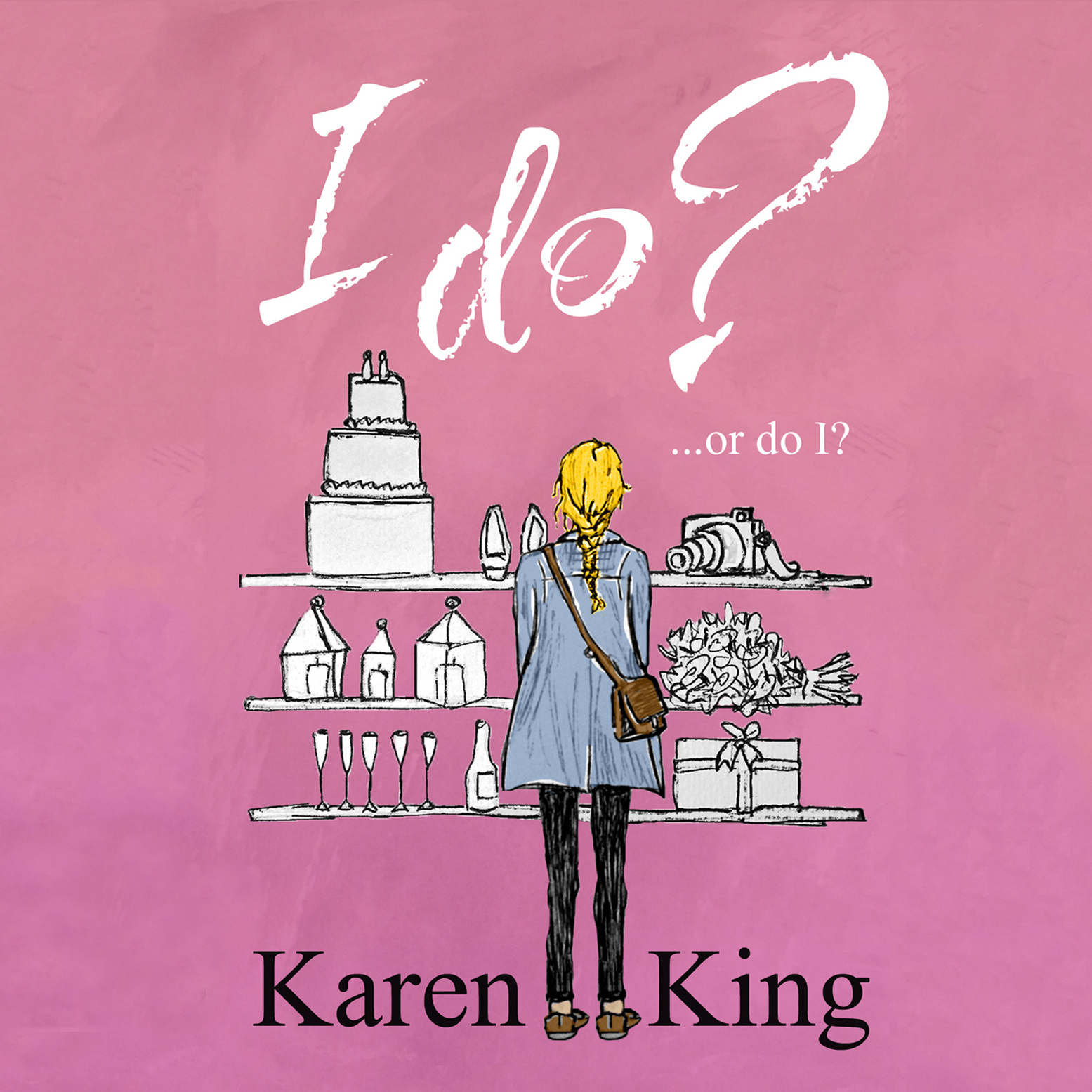 Printable I Do - or Do I? Audiobook Cover Art