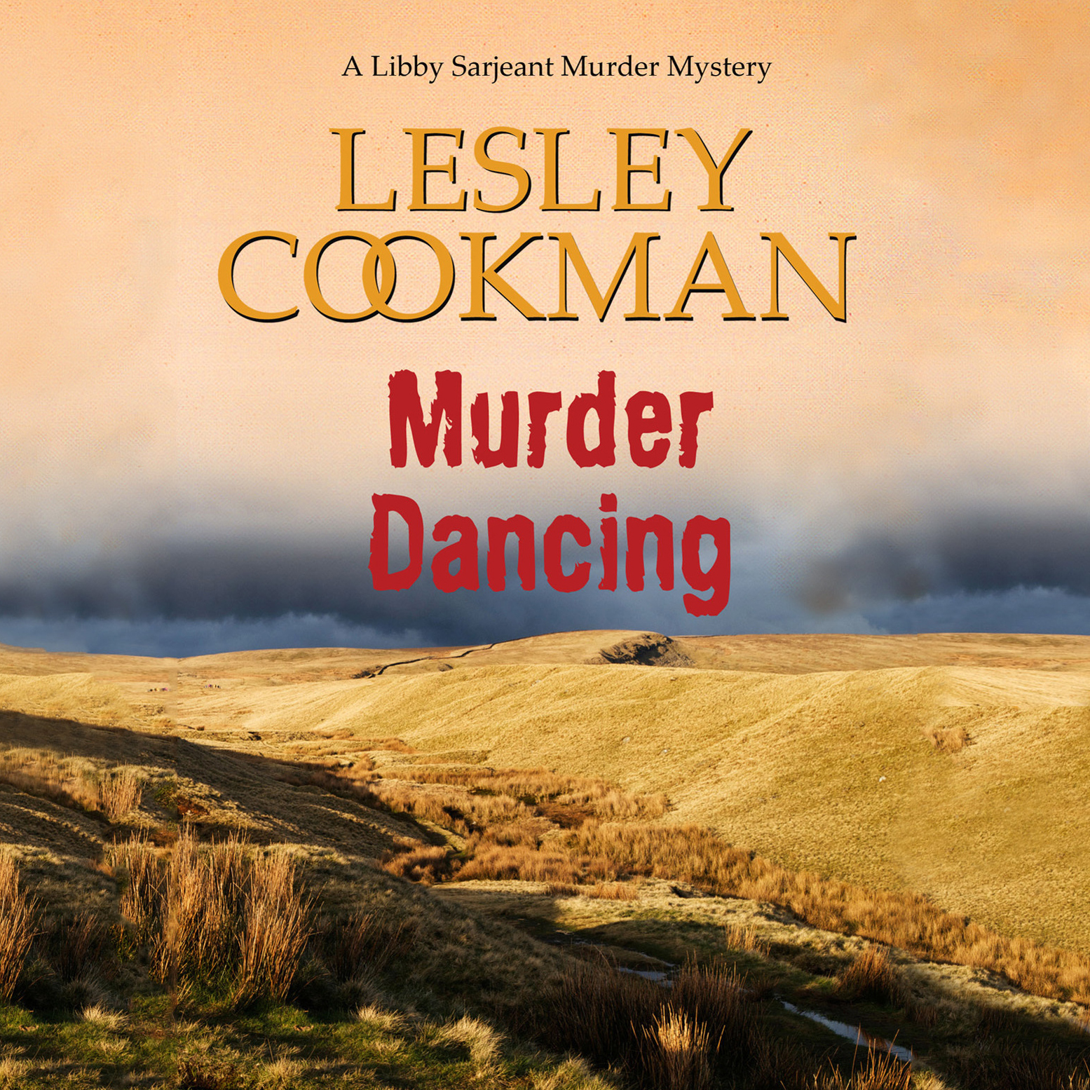 Printable Murder Dancing Audiobook Cover Art