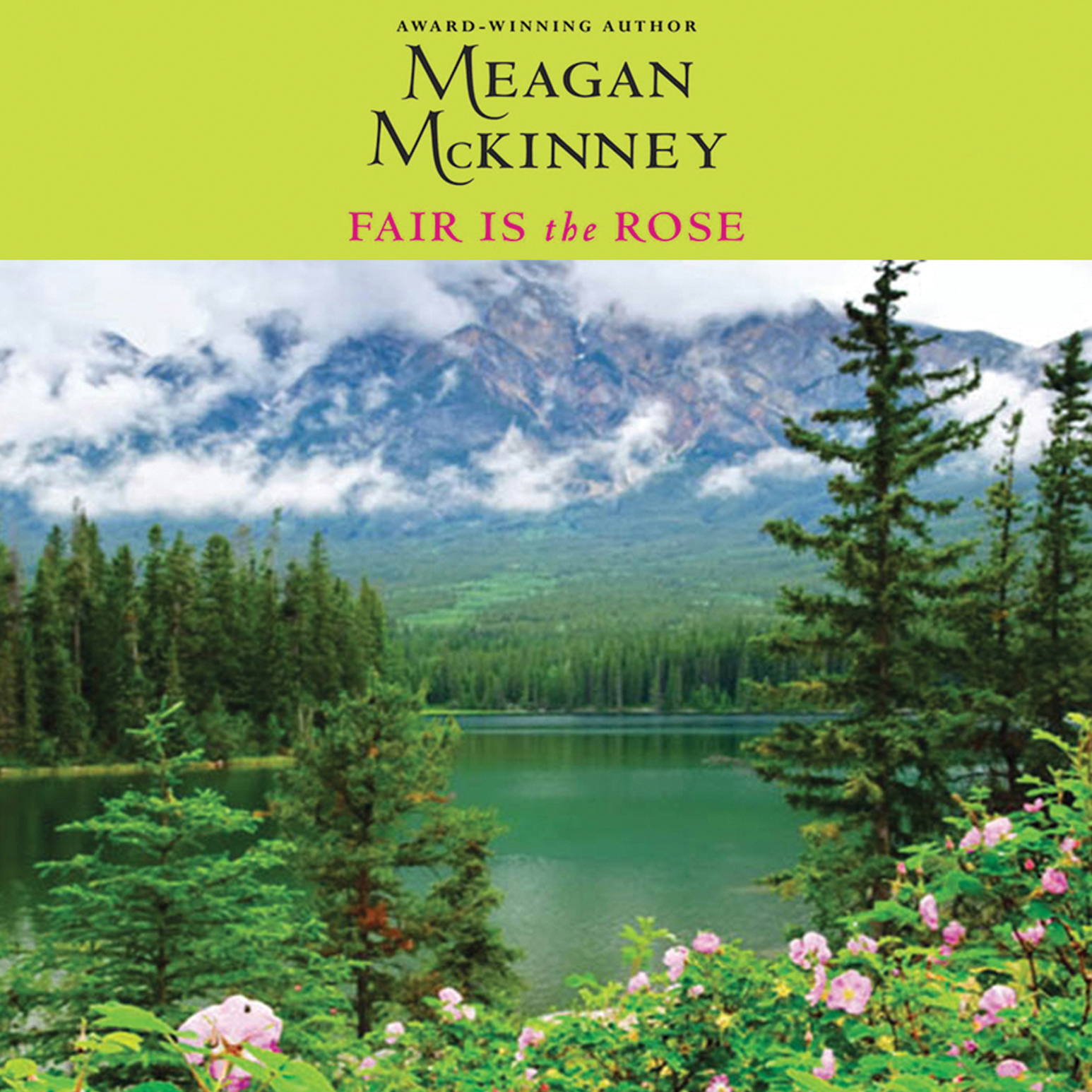 Printable Fair is The Rose Audiobook Cover Art