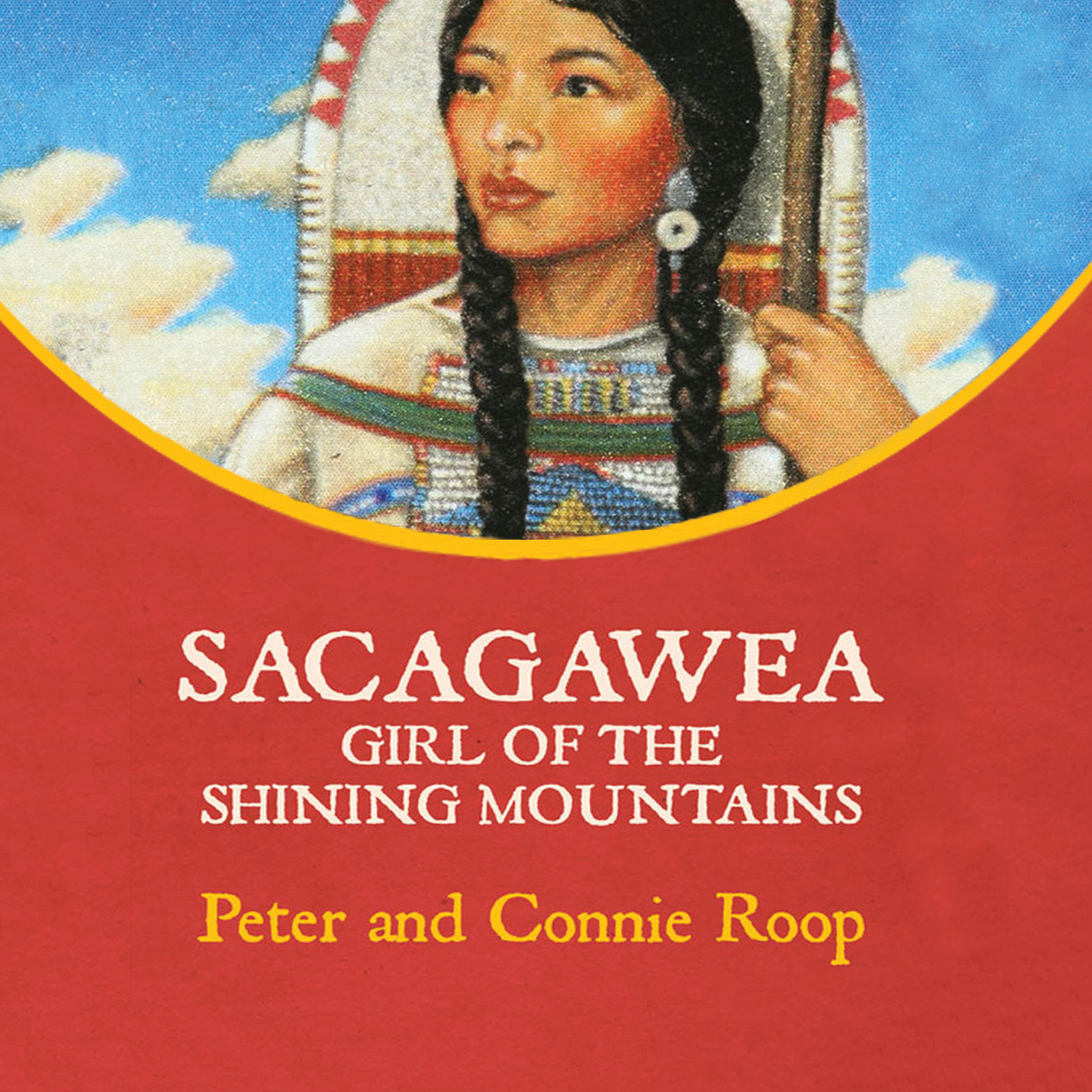 Printable Sacagawea: Girl of the Shining Mountains Audiobook Cover Art