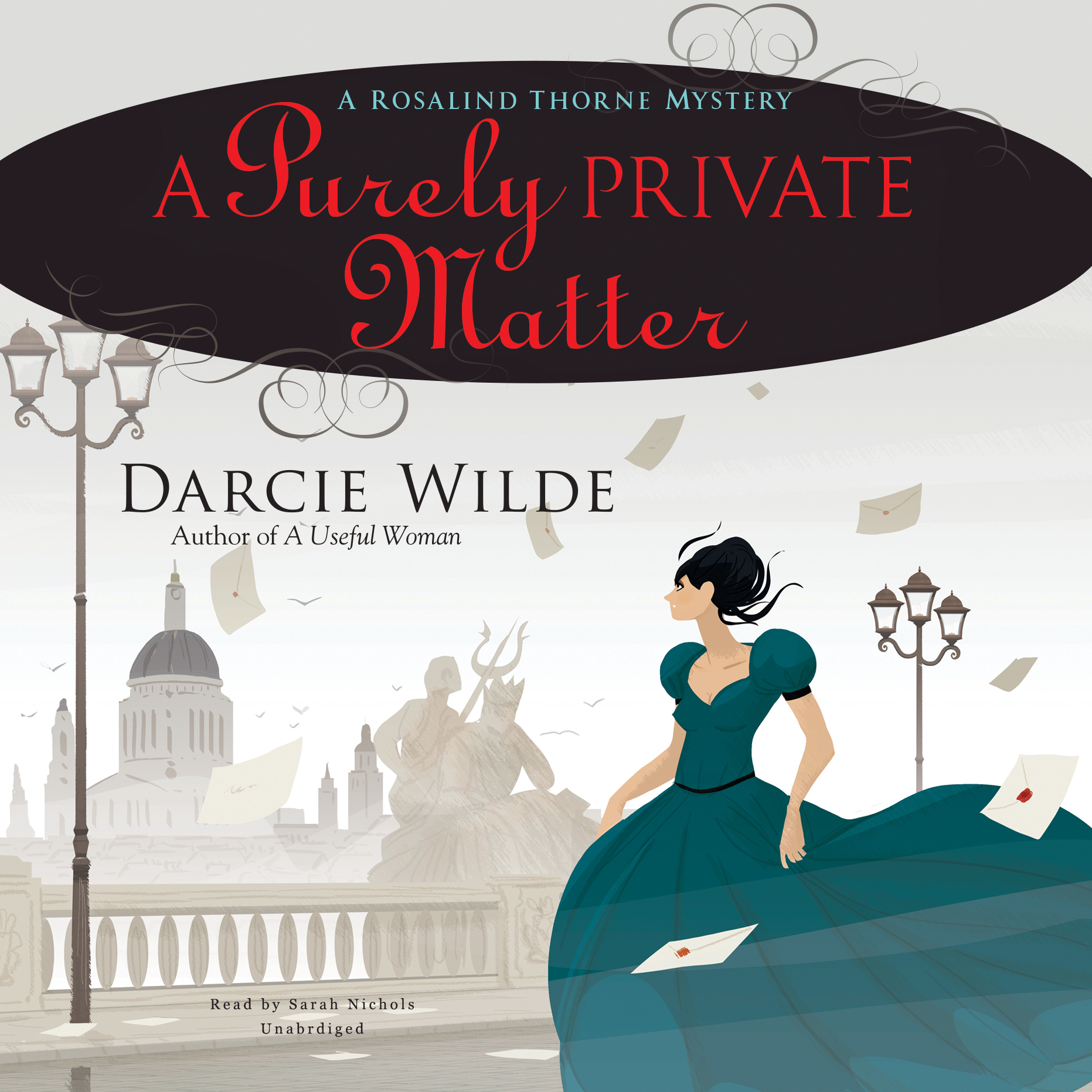 Printable A Purely Private Matter: A Rosalind Thorne Mystery Audiobook Cover Art