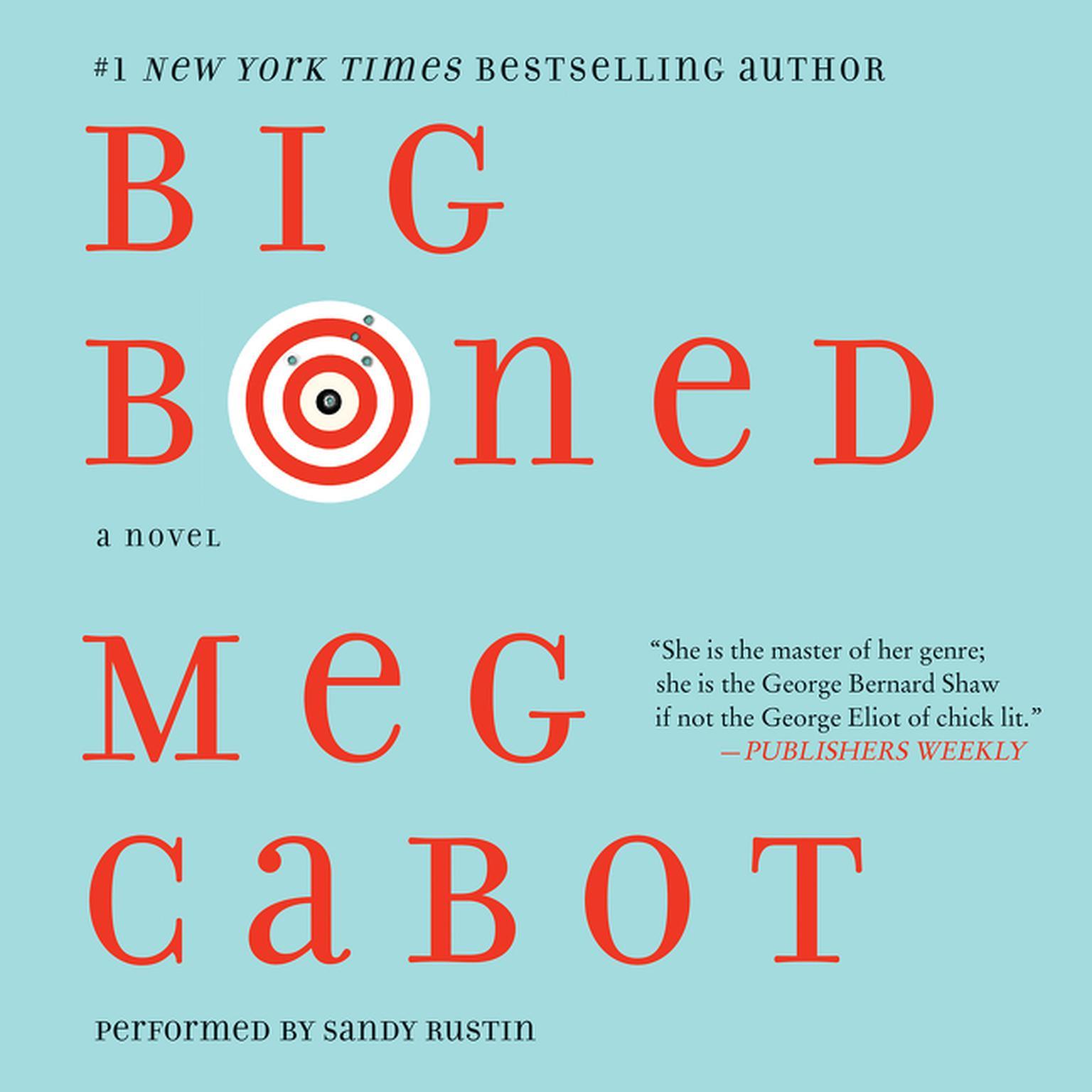 Printable Big Boned Audiobook Cover Art