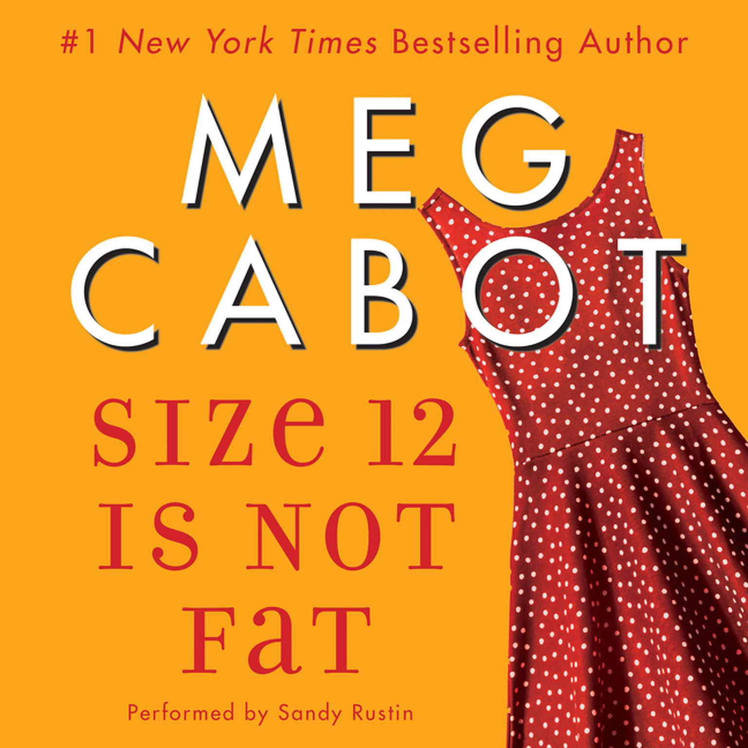 Printable Size 12 Is Not Fat: A Heather Wells Mystery Audiobook Cover Art