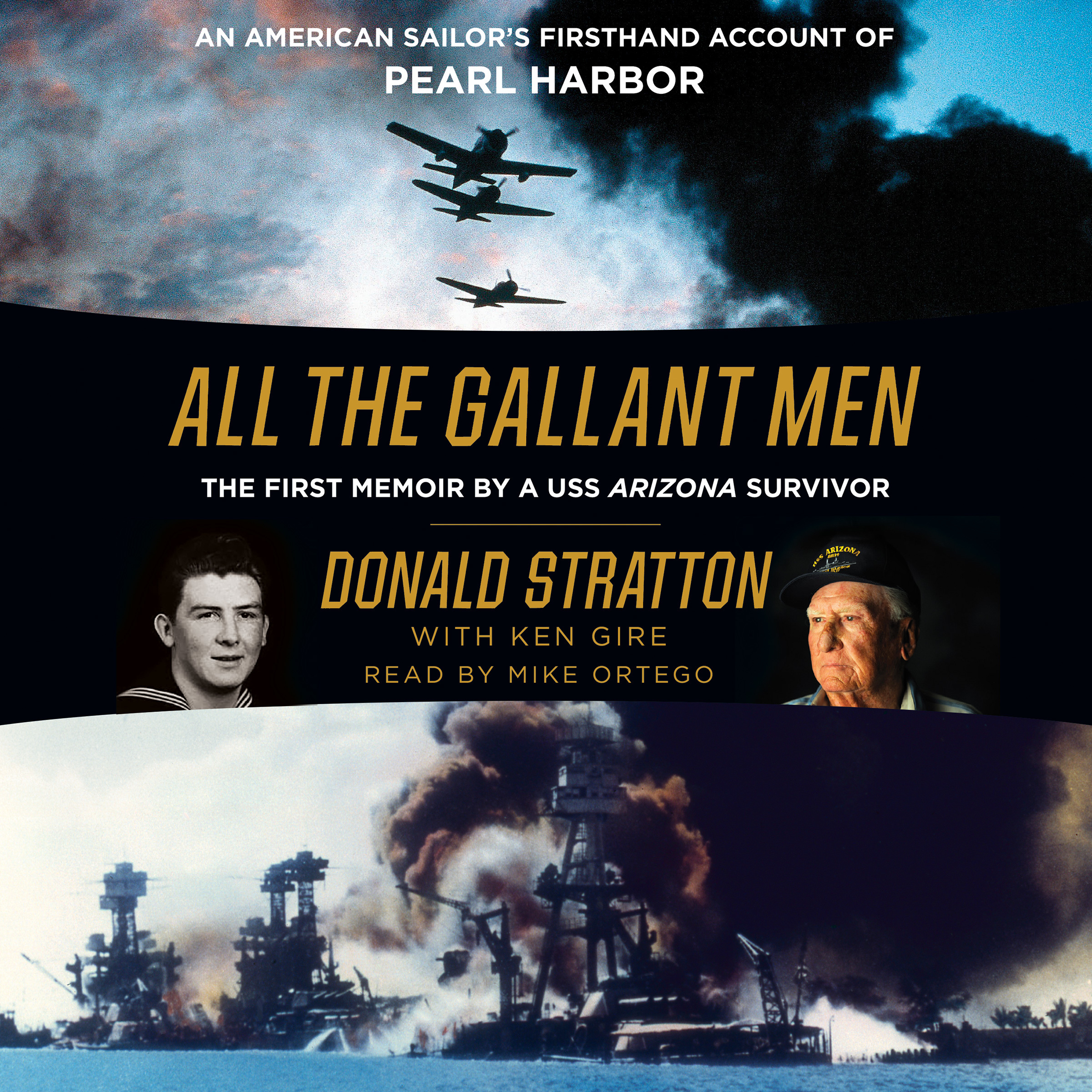 Printable All the Gallant Men: An American Sailor's Firsthand Account of Pearl Harbor Audiobook Cover Art