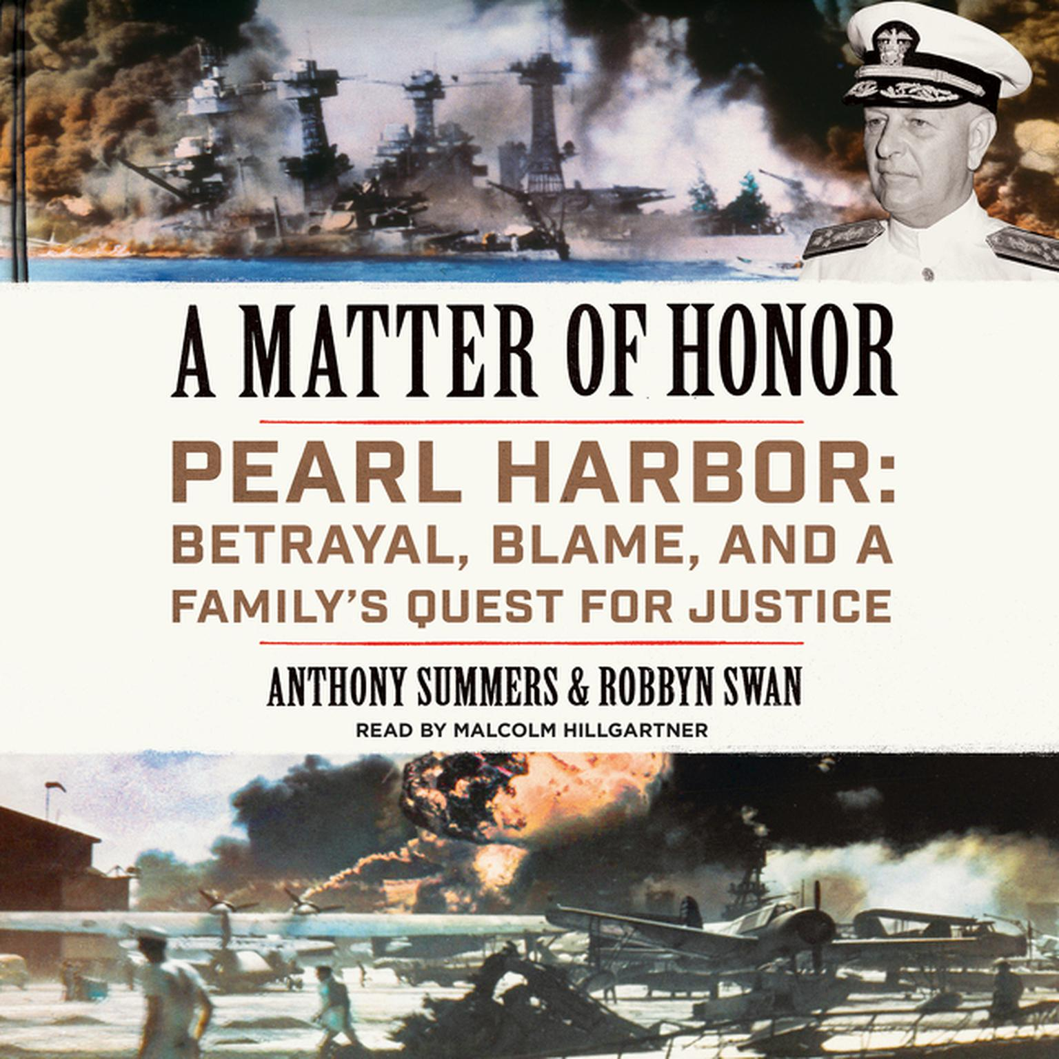 Printable A Matter of Honor: Pearl Harbor: Betrayal, Blame, and a Family's Quest for Justice Audiobook Cover Art