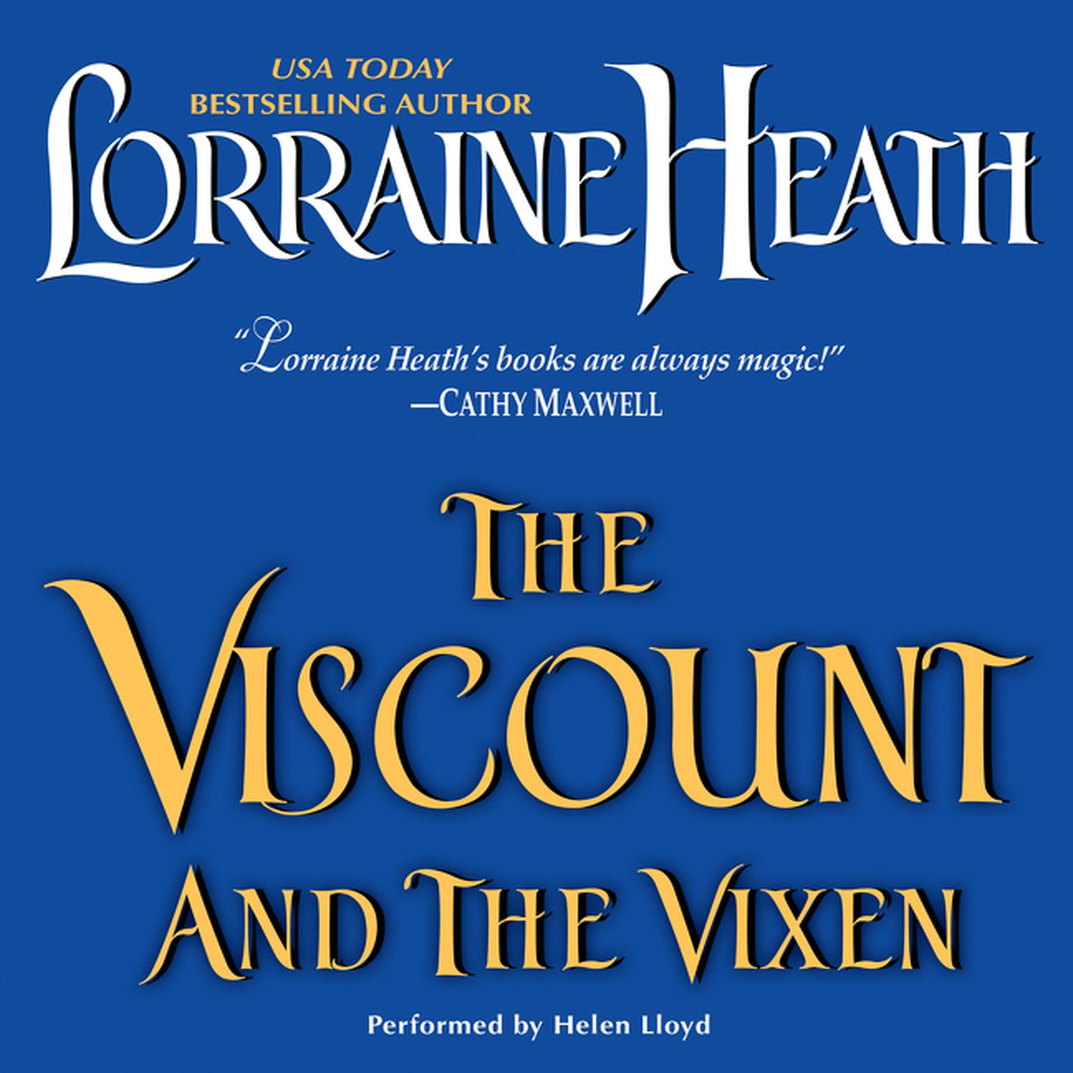 Printable The Viscount and the Vixen Audiobook Cover Art
