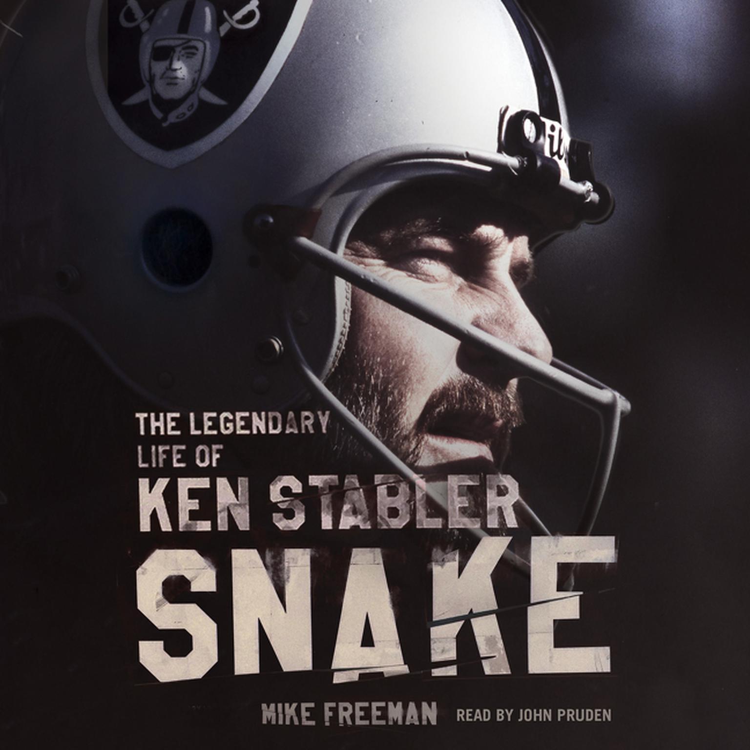 Printable Snake: The Legendary Life of Ken Stabler Audiobook Cover Art