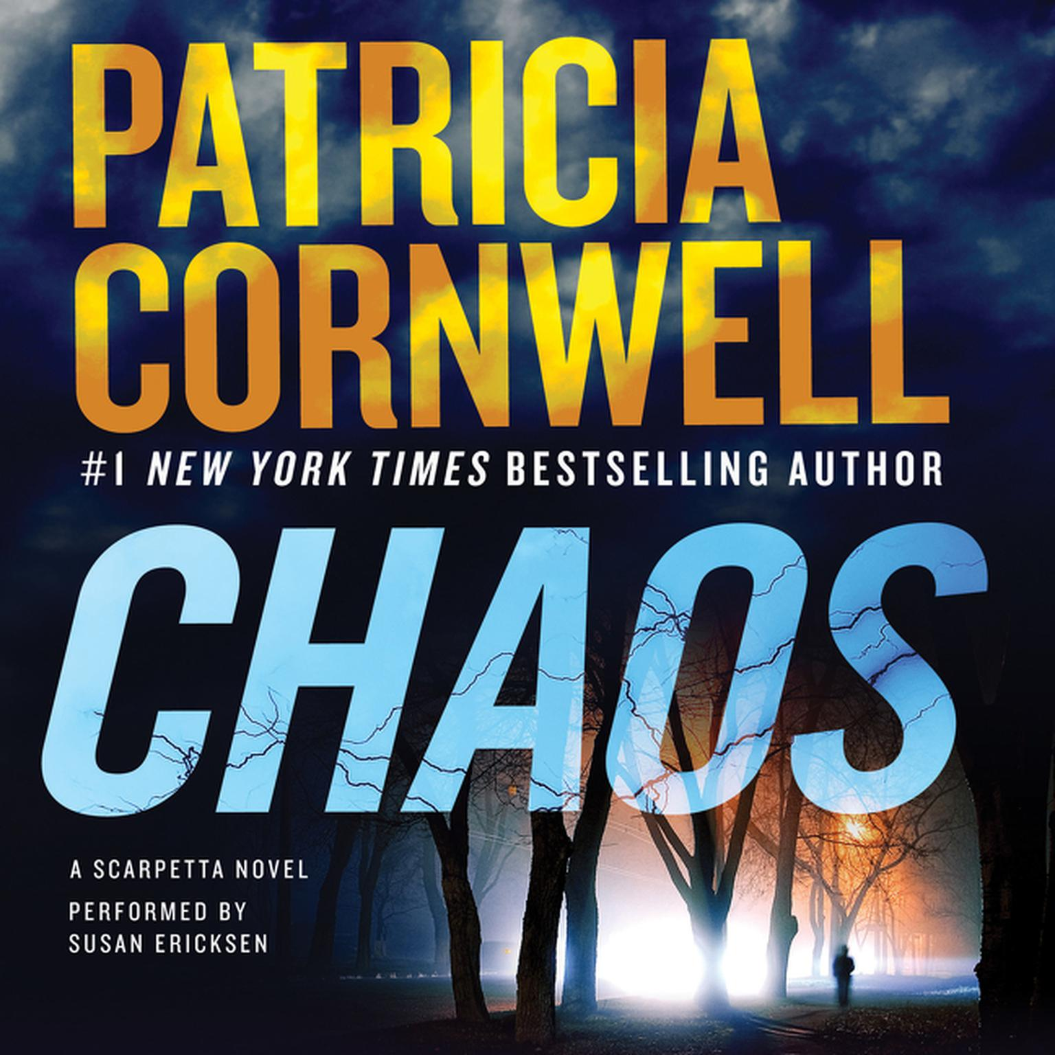 Printable Chaos: A Scarpetta Novel Audiobook Cover Art