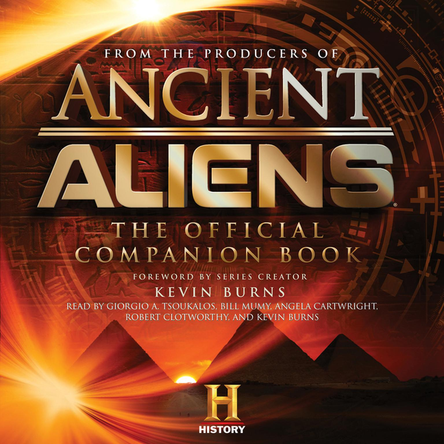 Printable Ancient Aliens: The Official Companion Book Audiobook Cover Art