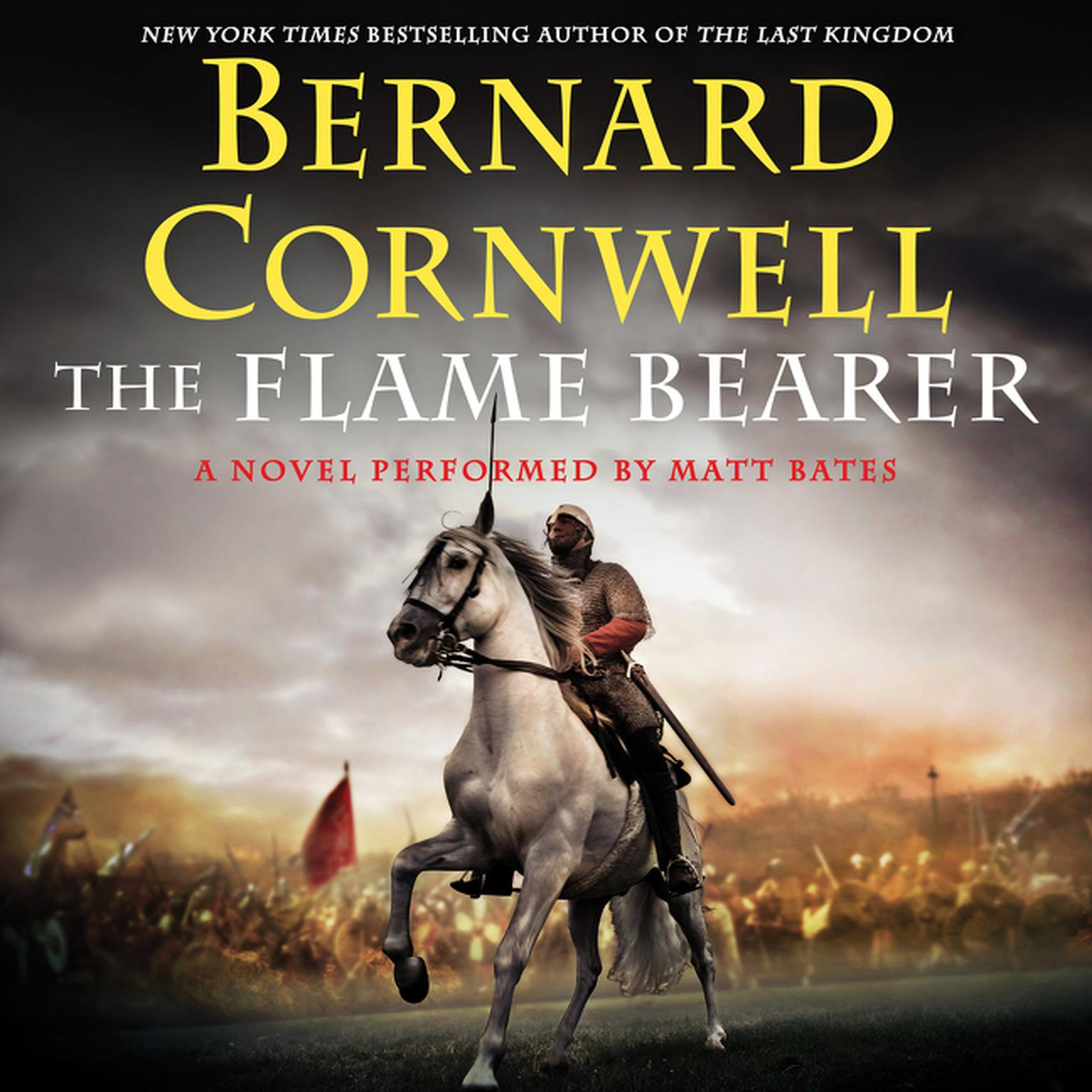 Printable The Flame Bearer Audiobook Cover Art