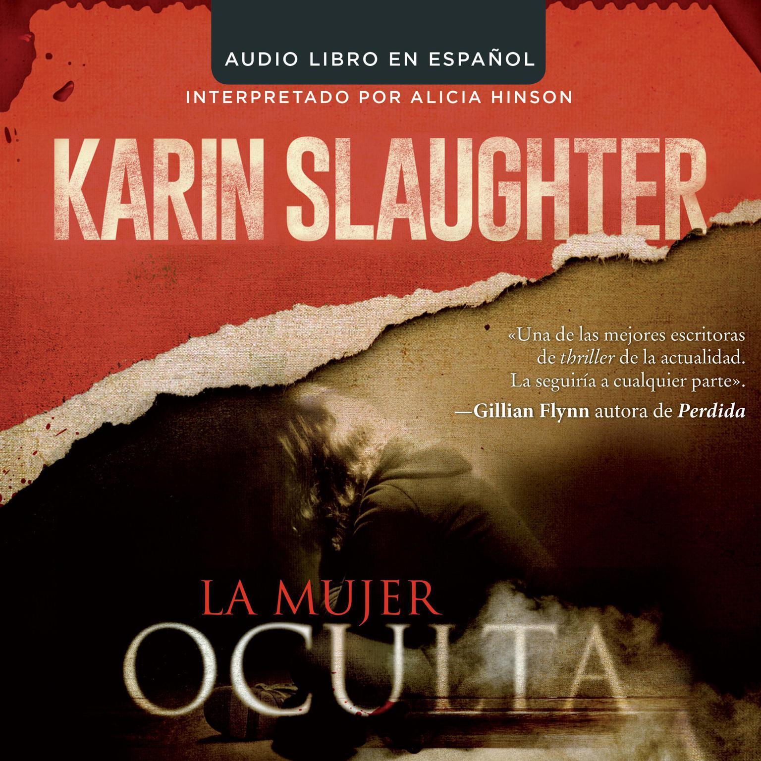 Printable La mujer oculta Audiobook Cover Art