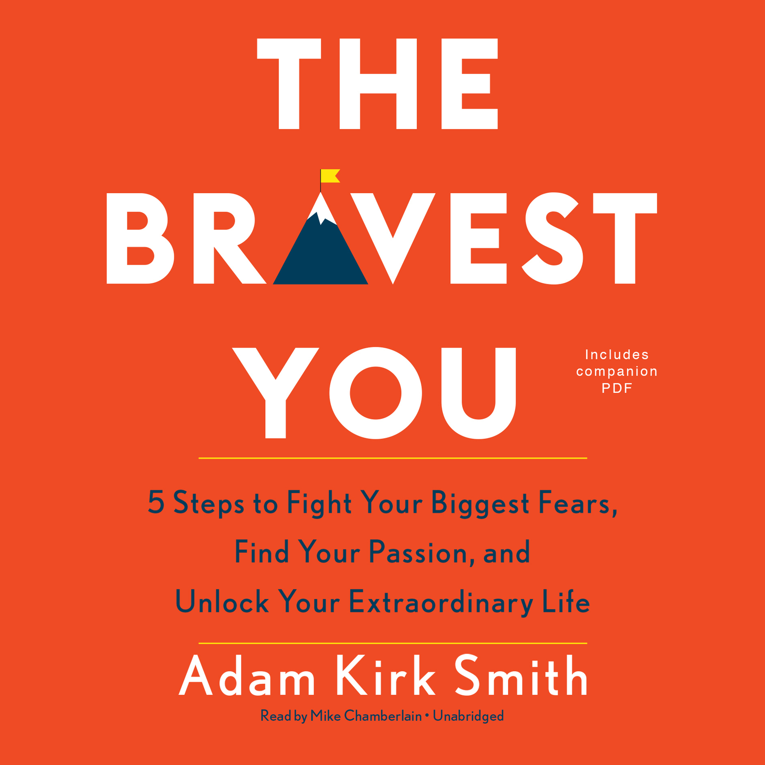 Printable The Bravest You: Five Steps to Fight Your Biggest Fears, Find Your Passion, and Unlock Your Extraordinary Audiobook Cover Art