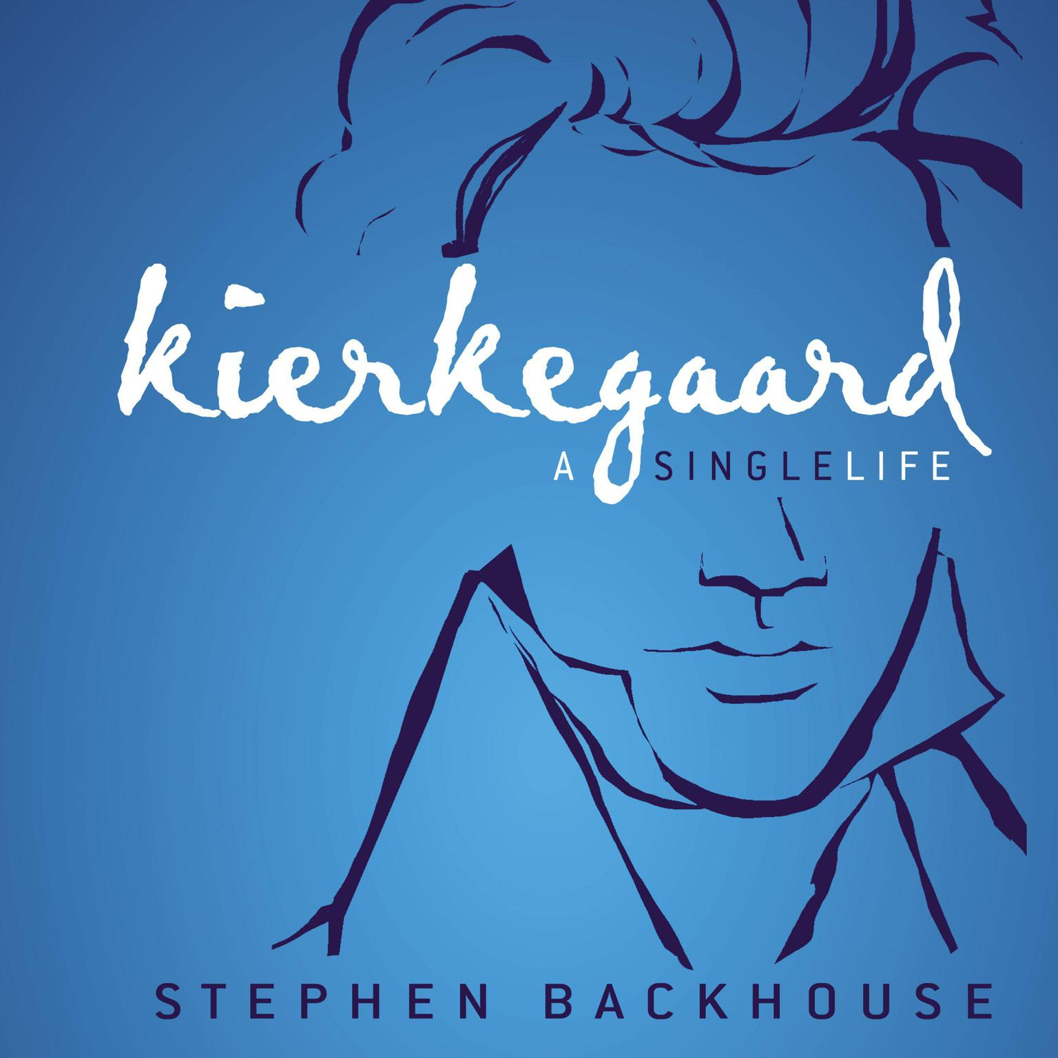 Printable Kierkegaard: A Single Life Audiobook Cover Art