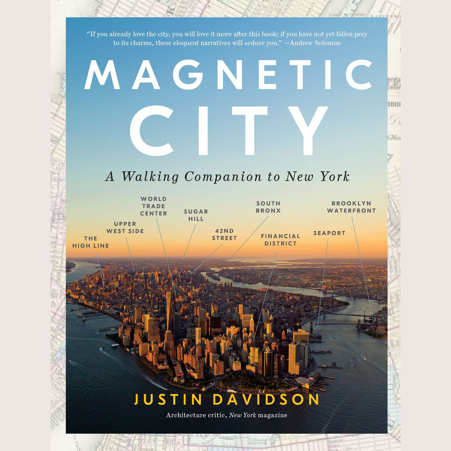 Printable Magnetic City: A Walking Companion to New York Audiobook Cover Art