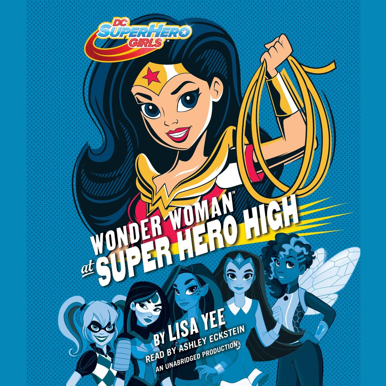 Printable Wonder Woman at Super Hero High (DC Super Hero Girls) Audiobook Cover Art