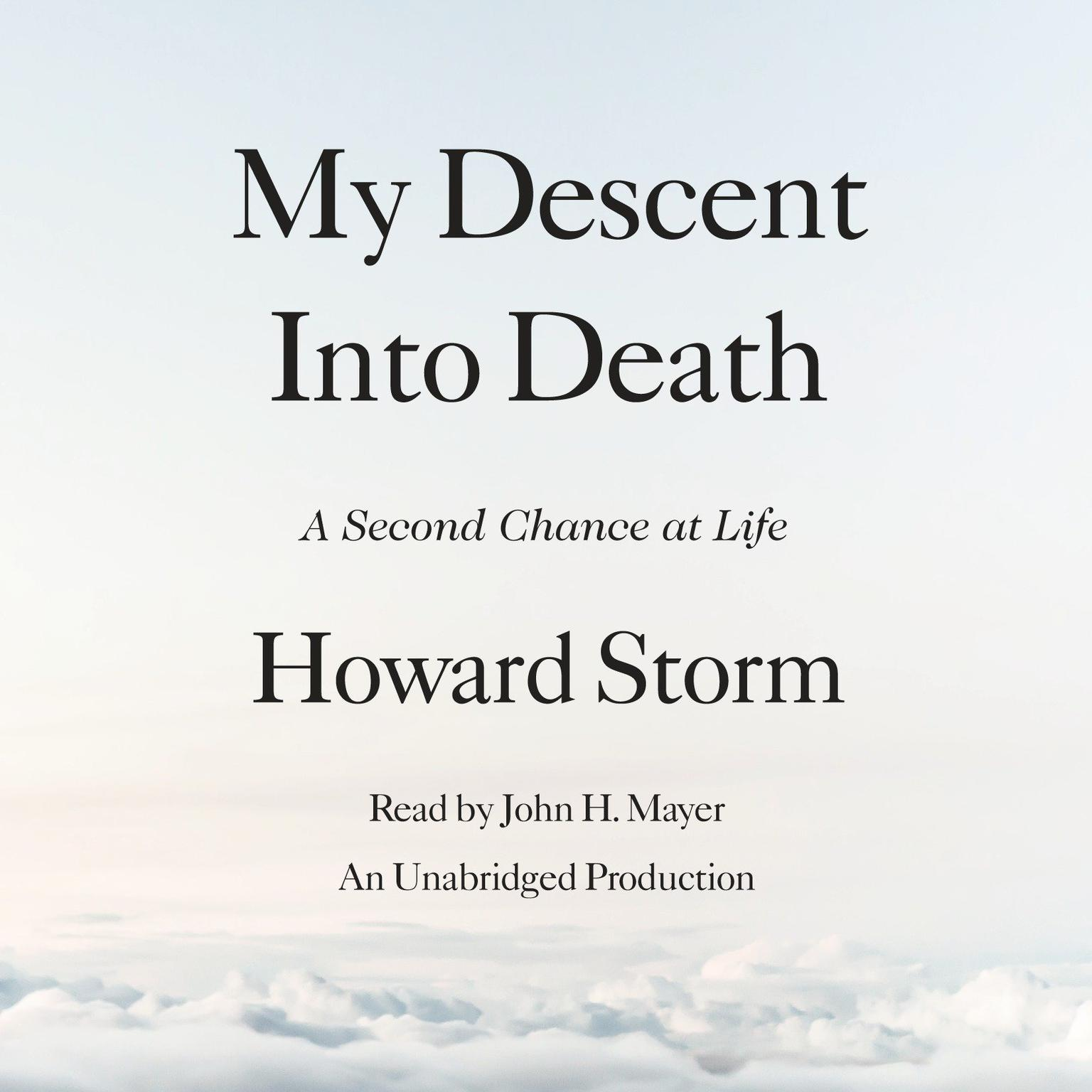 Printable My Descent Into Death: A Second Chance at Life Audiobook Cover Art