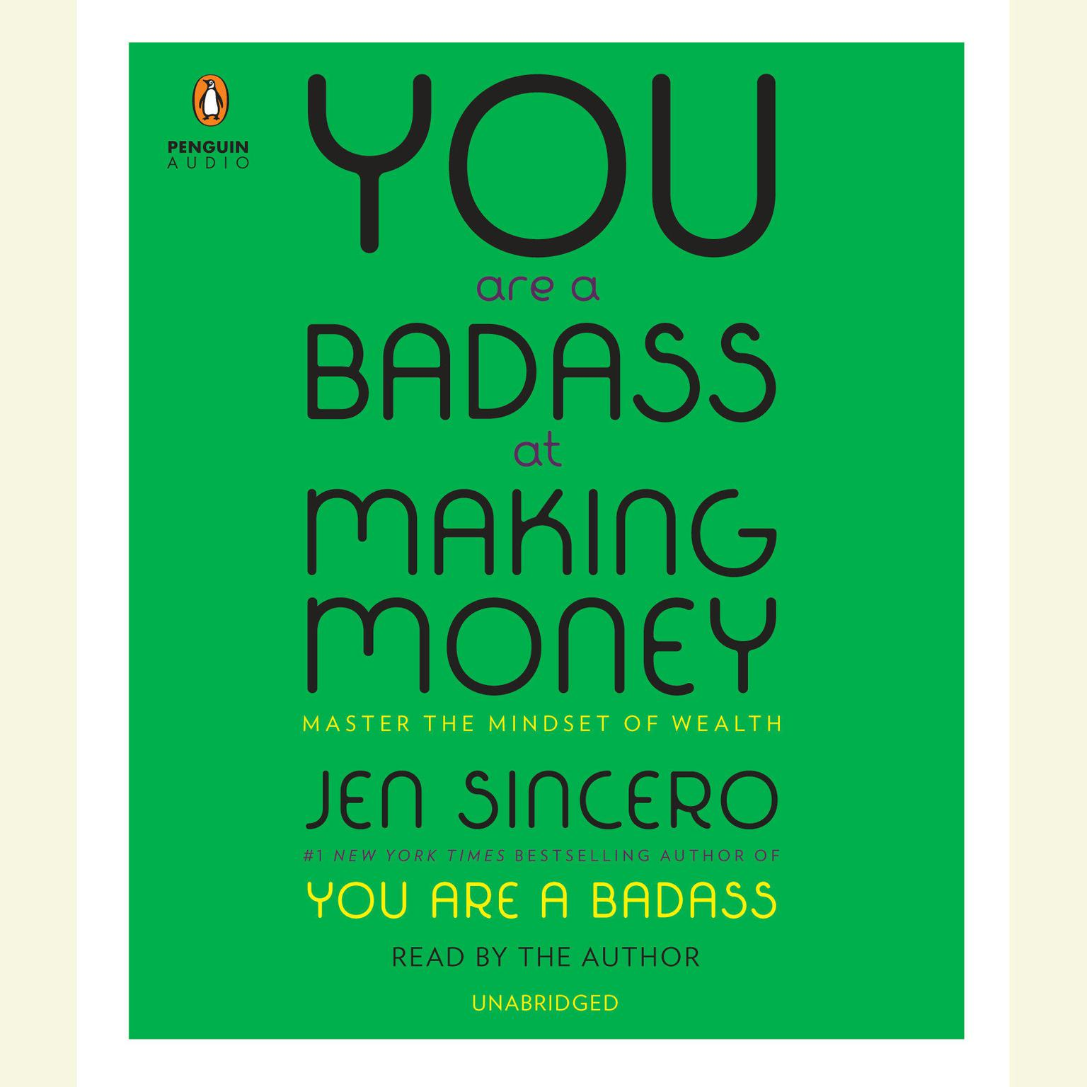 Printable You Are a Badass at Making Money: Master the Mindset of Wealth Audiobook Cover Art