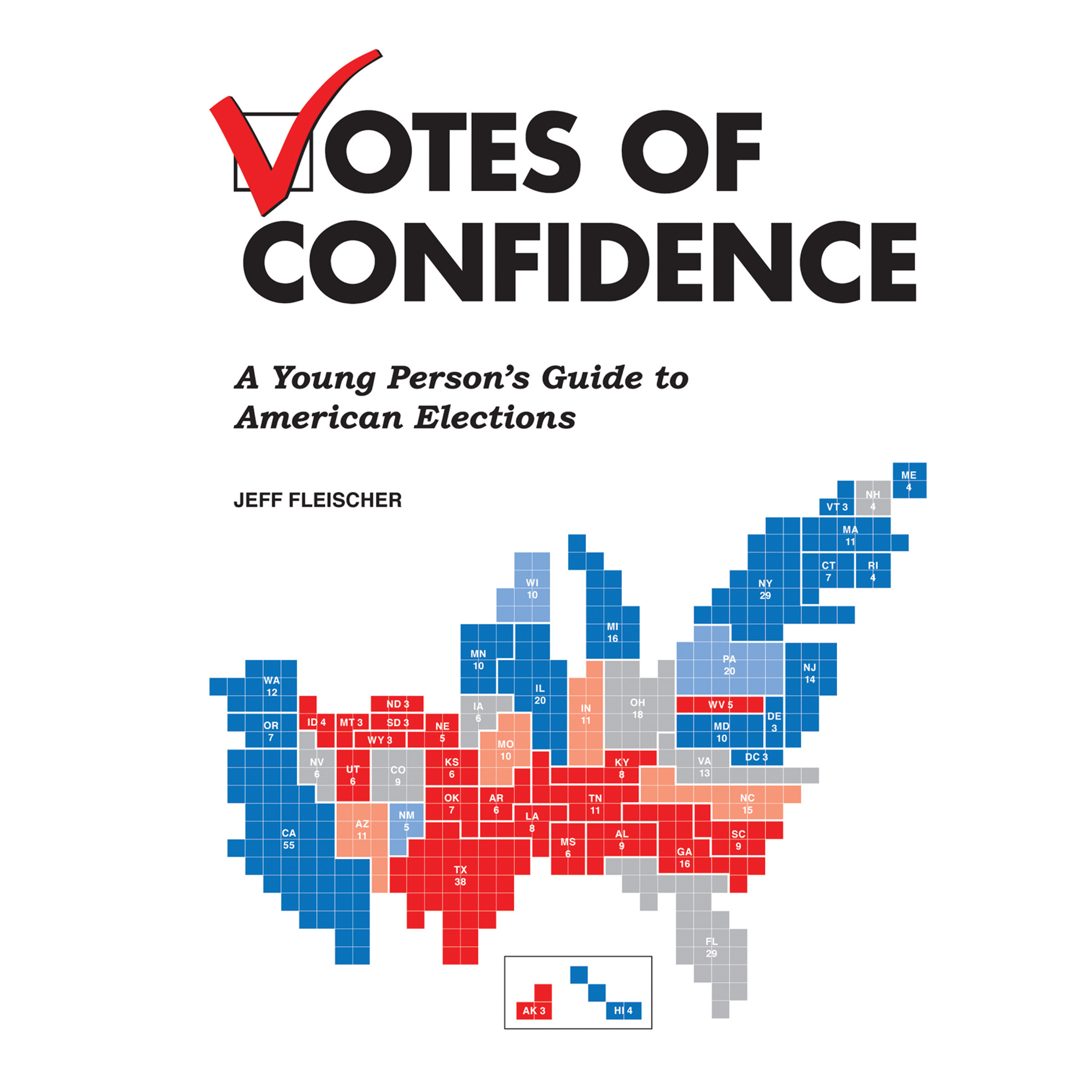 Printable Votes of Confidence: A Young Person's Guide to American Elections Audiobook Cover Art