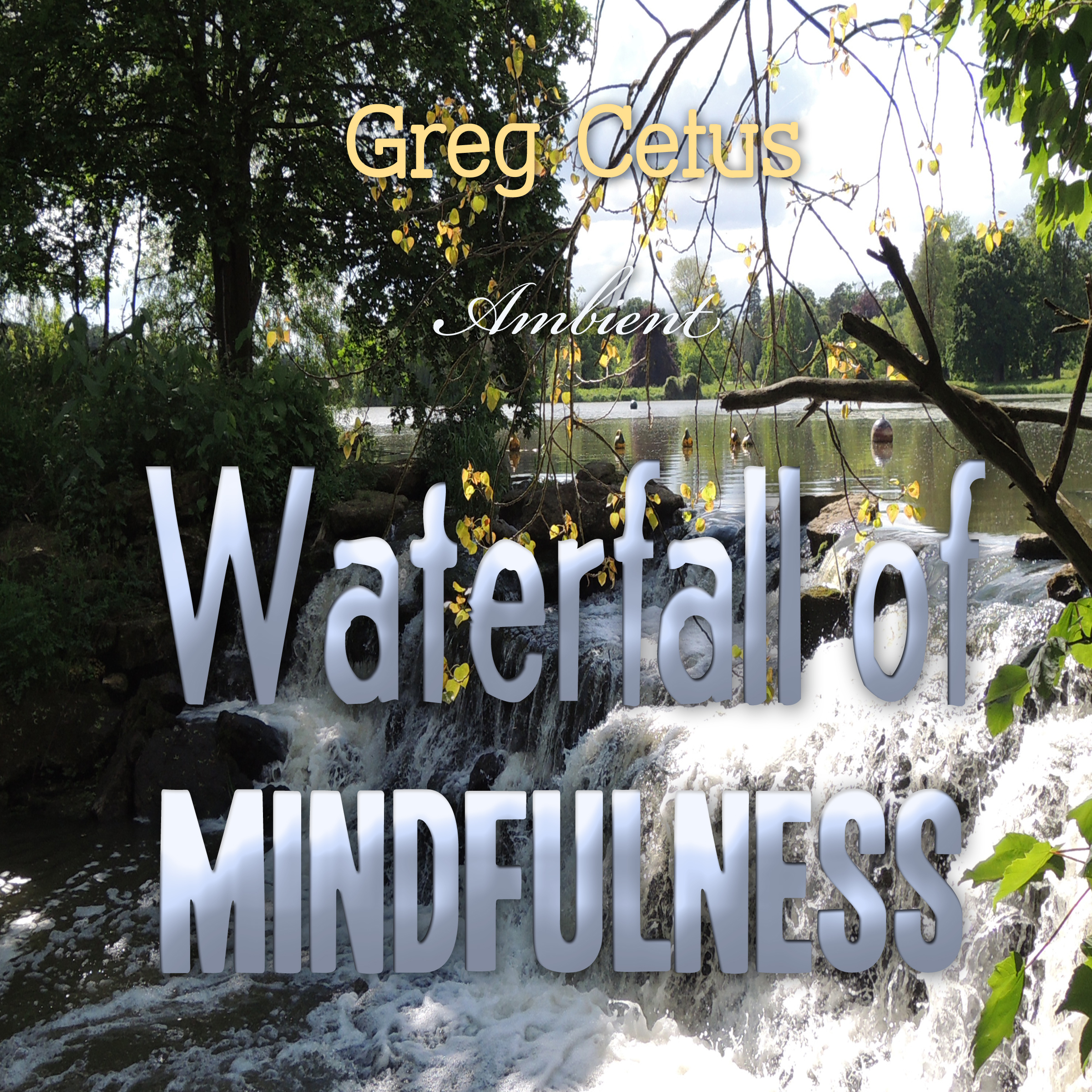 Printable Waterfall of Mindfulness: Wakeful Worry Elimination Technique Audiobook Cover Art