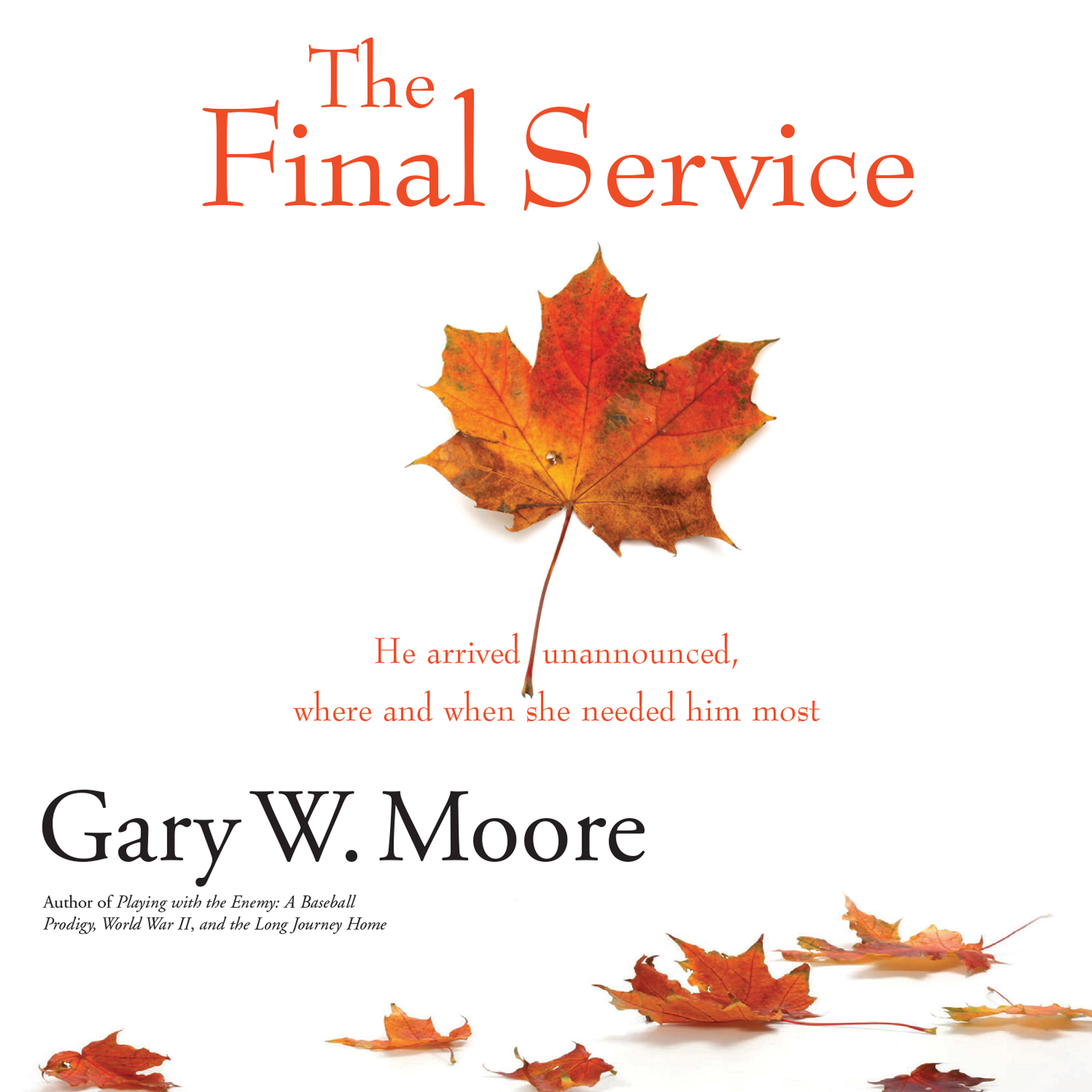 Printable The Final Service Audiobook Cover Art