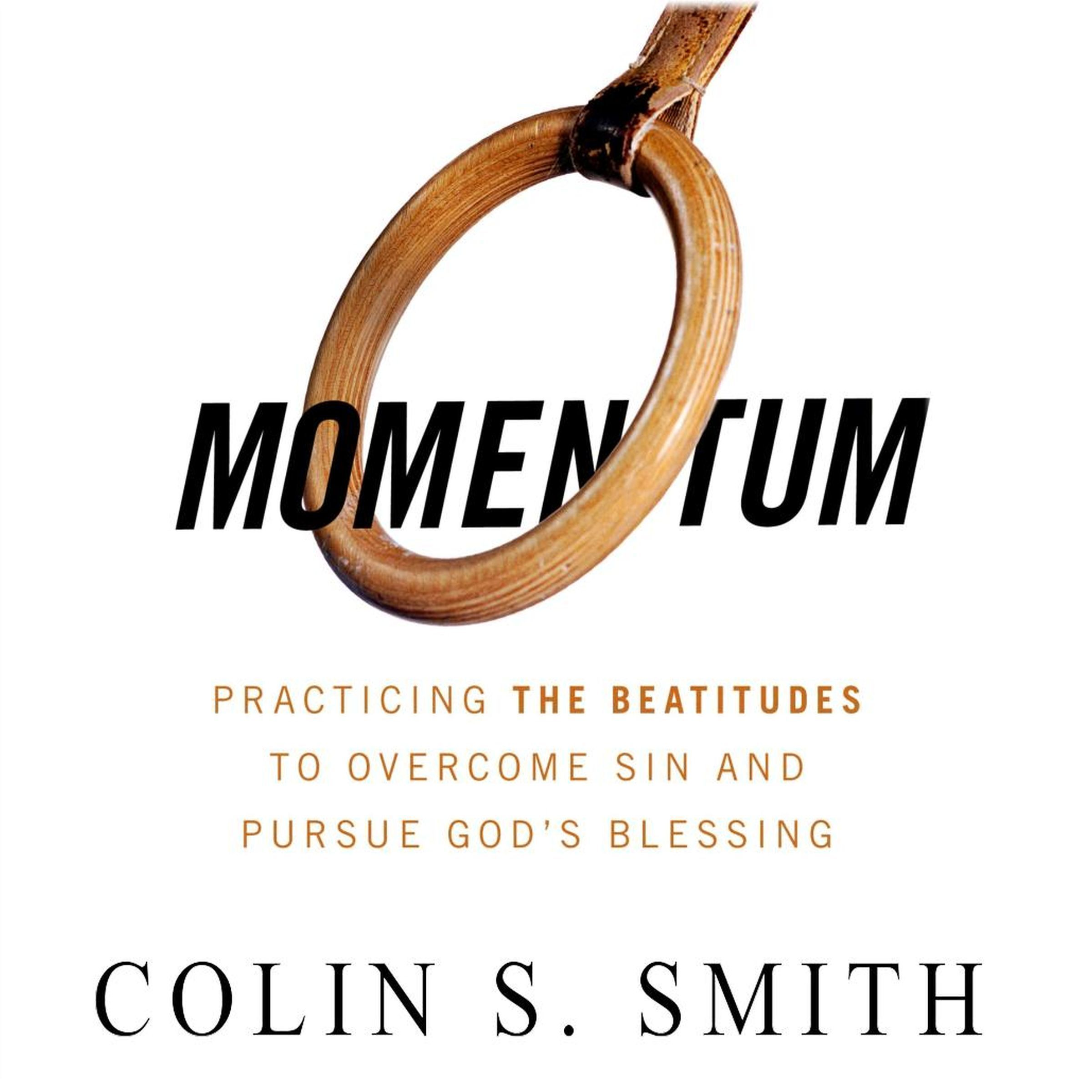 Printable Momentum: Pursuing God's Blessings through the Beatitudes Audiobook Cover Art